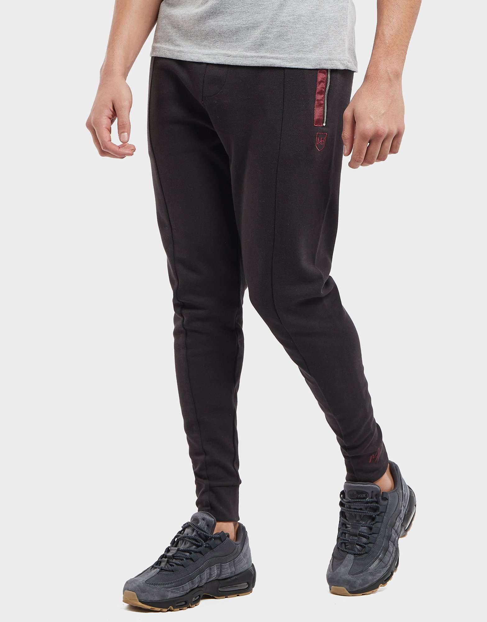Millionaire Homme Jacquard Cuffed Fleece Pants - Online Exclusive