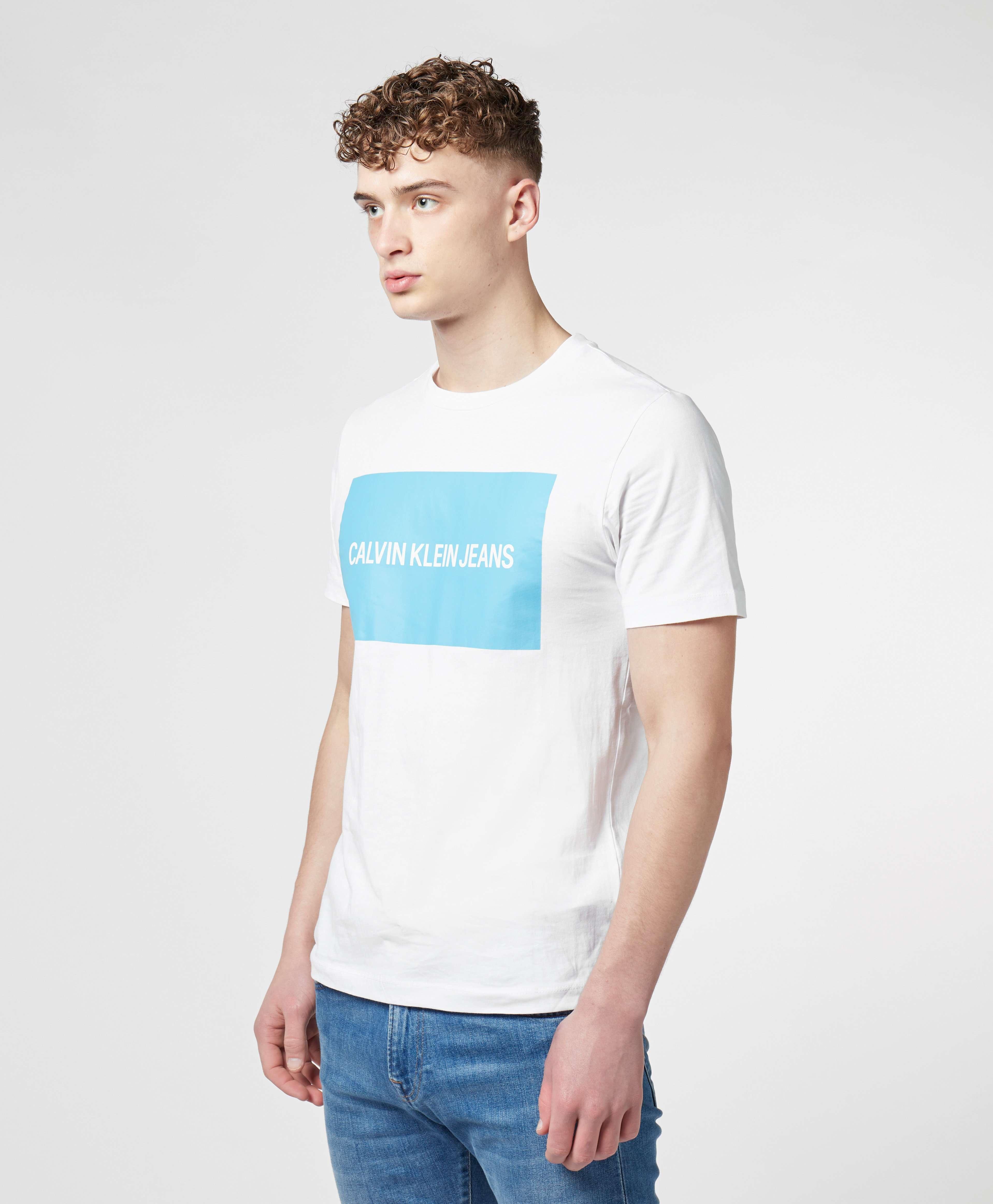 Calvin Klein Institutional Box Logo Short Sleeve T-Shirt