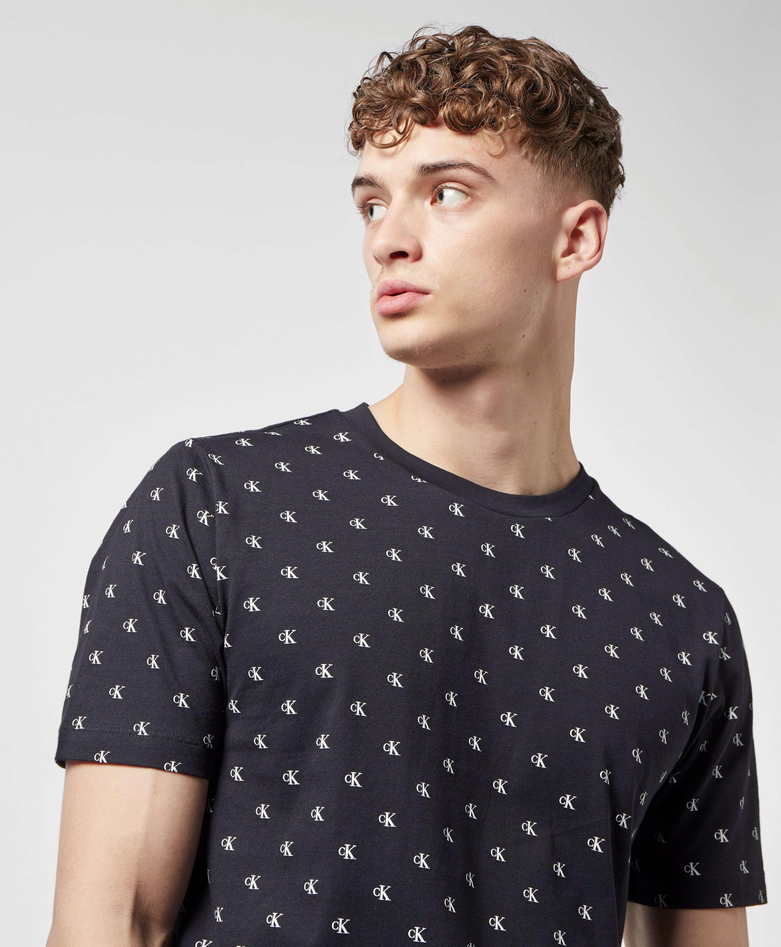 Calvin Klein Logo Print Short Sleeve T-Shirt - Online Exclusive