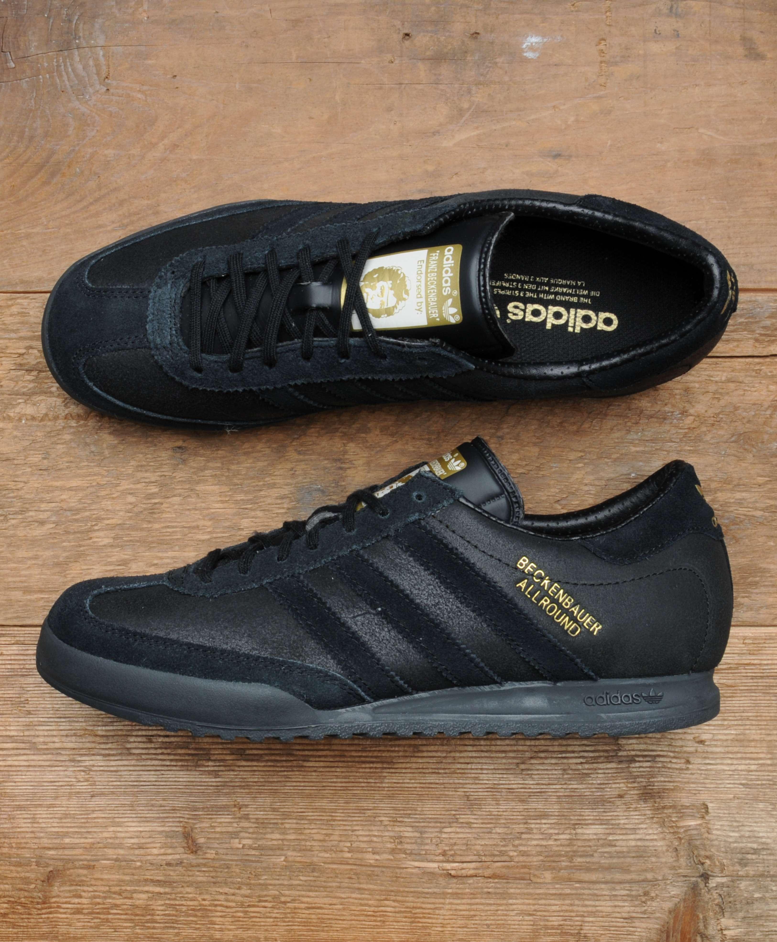 Respiración Promover Intenso  adidas beckenbauer allround black and gold | Adidou