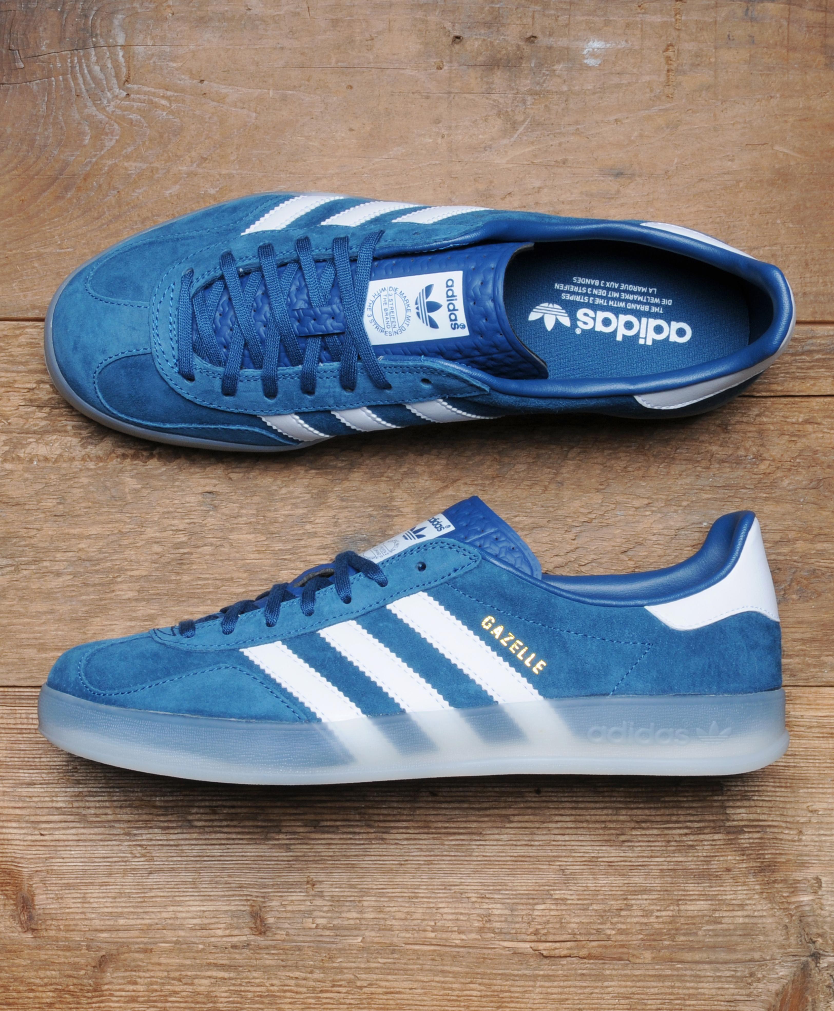 Adidas Originals Gazelle Indoor Blue