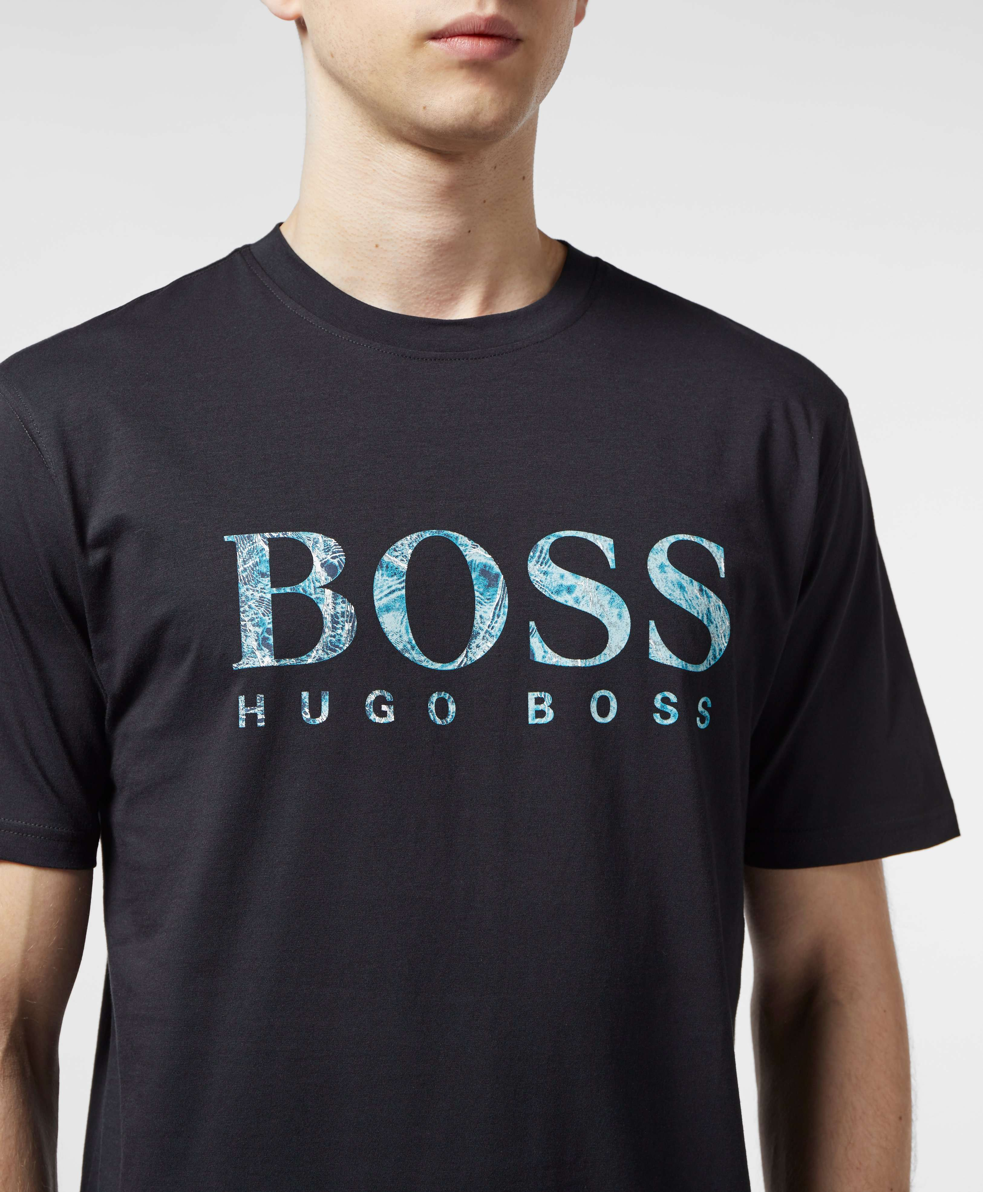 BOSS Teecher Logo Short Sleeve T-Shirt