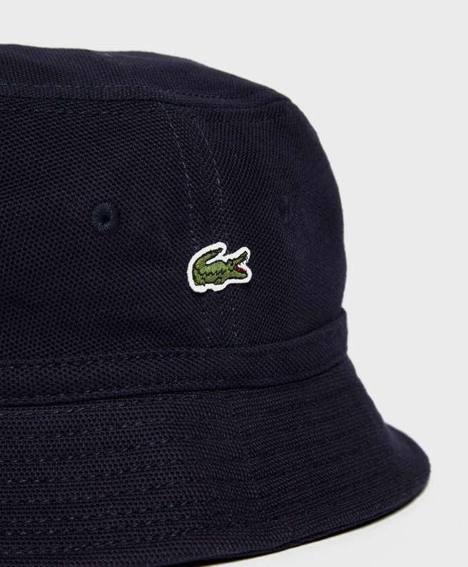 Lacoste Pique Bucket Hat   scotts Menswear