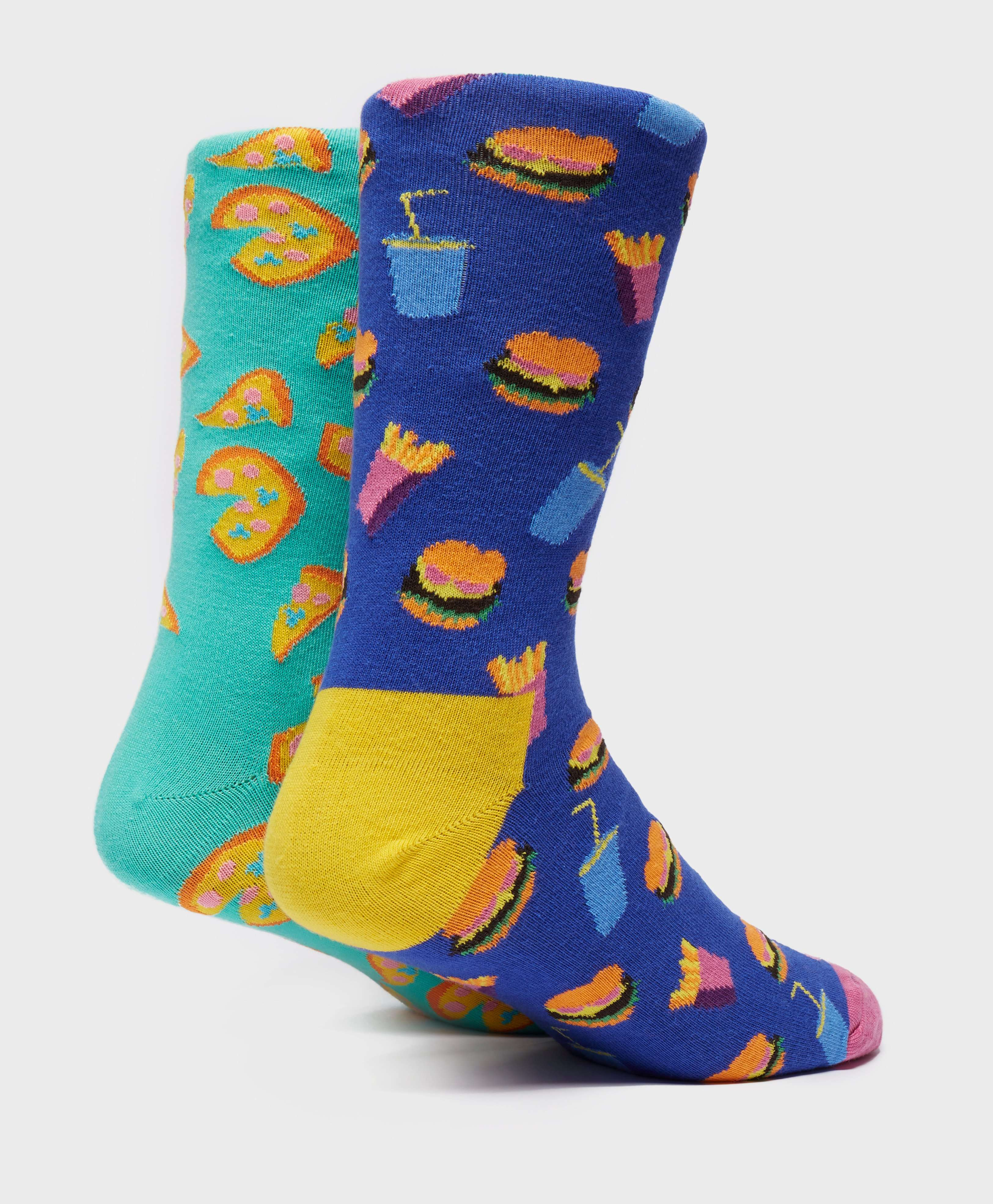 Happy Socks 4-Pack Junk Food Socks