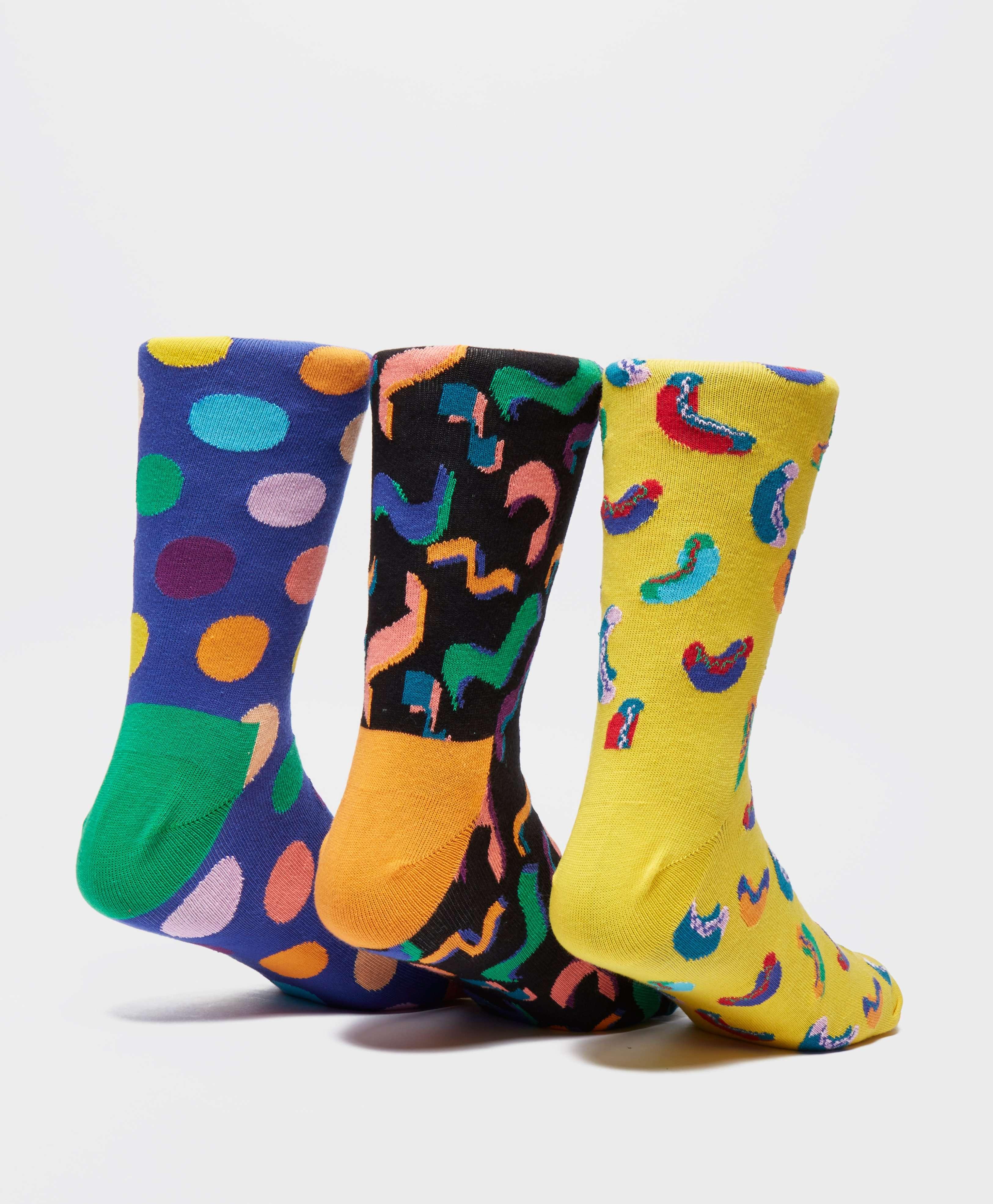 Happy Socks 3-Pack Happy Birthday Socks
