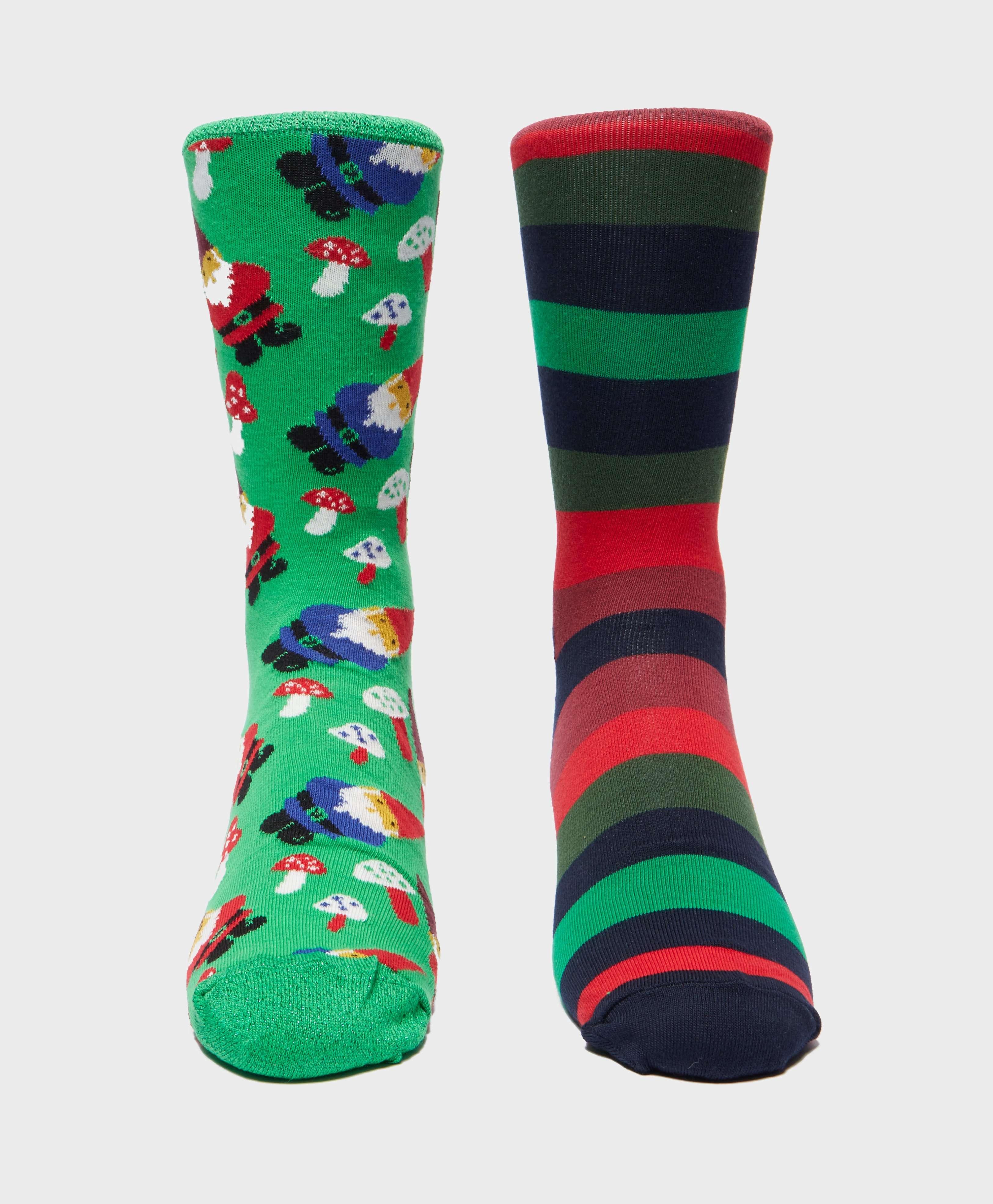 Happy Socks 2-Pack Cracker Socks