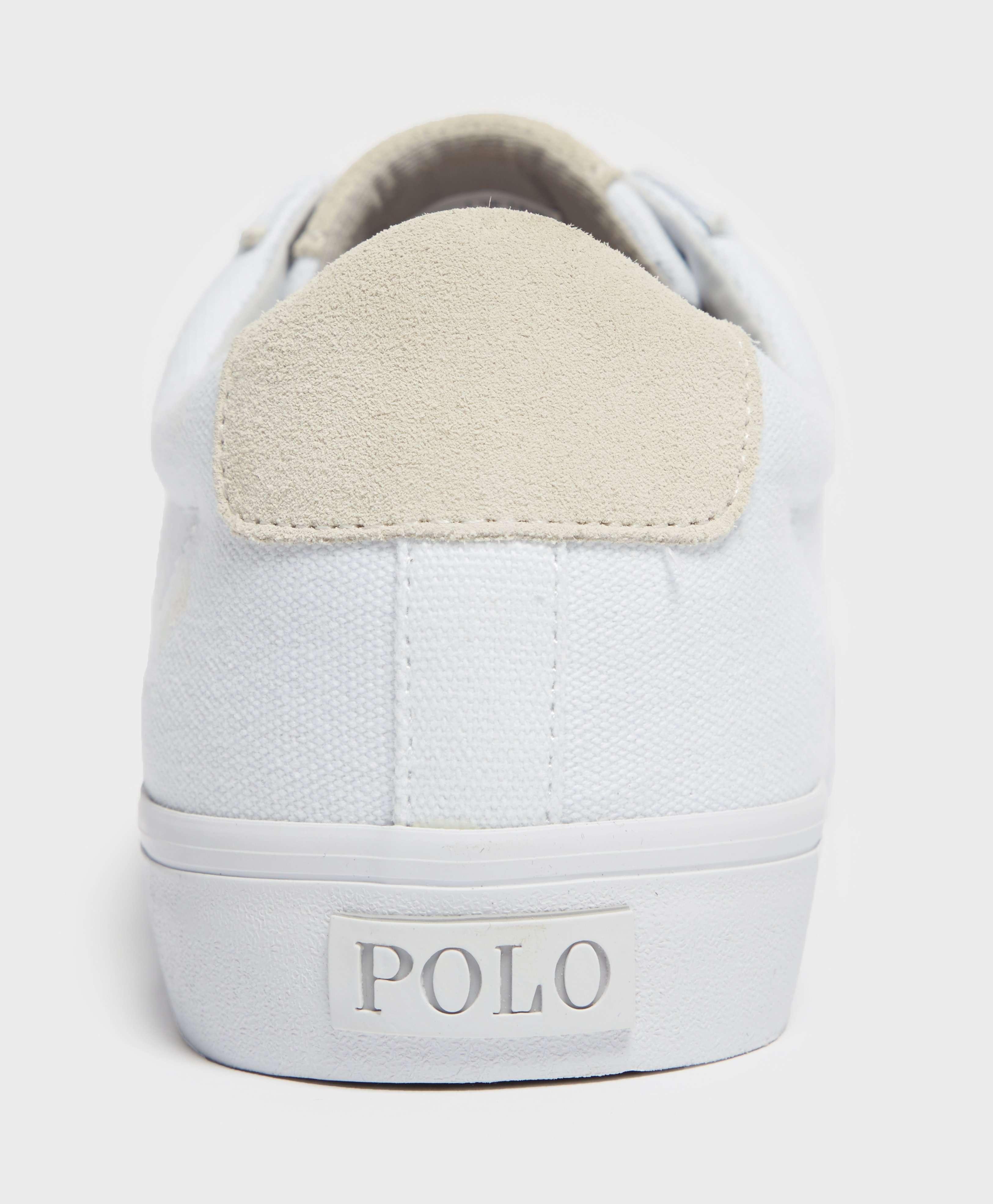 Polo Ralph Lauren Sayer Canvas Trainers