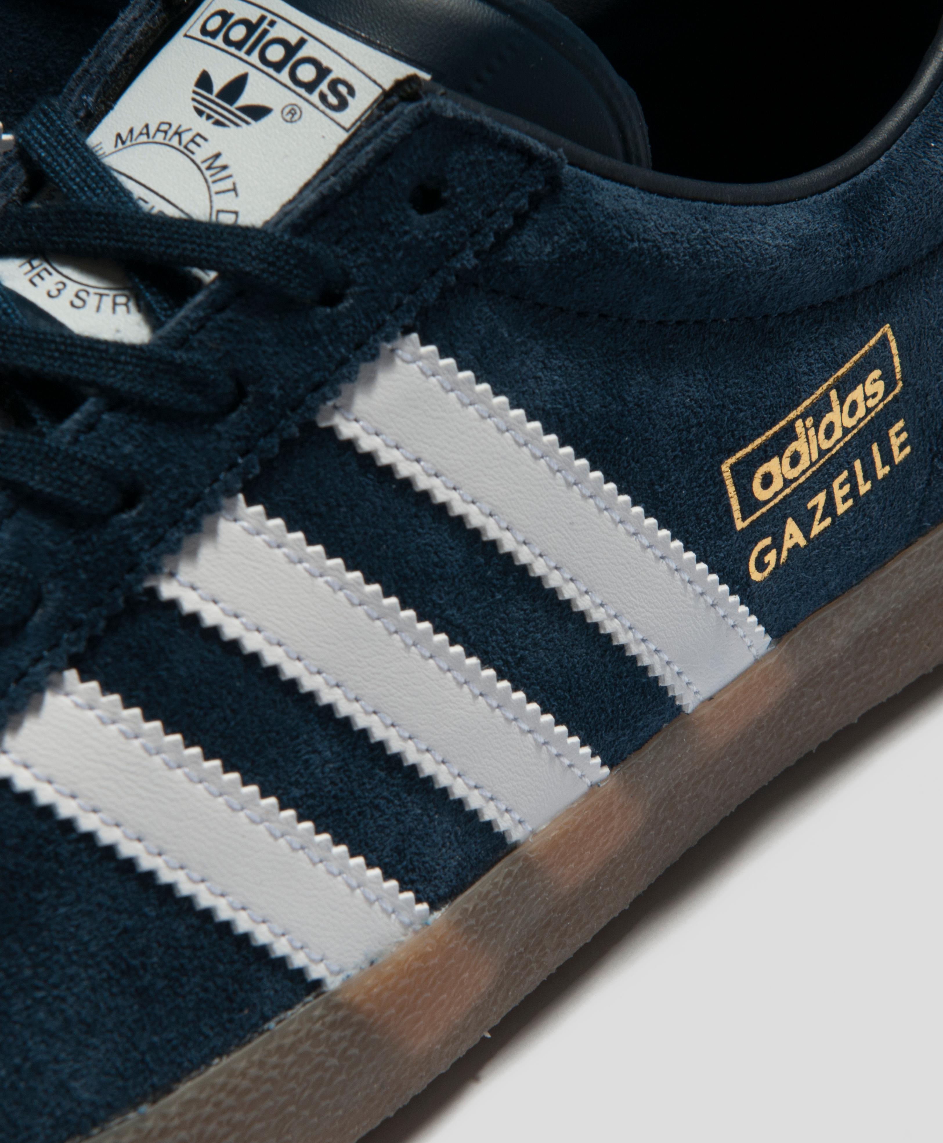 Adidas Gazelle Og Leather Navy