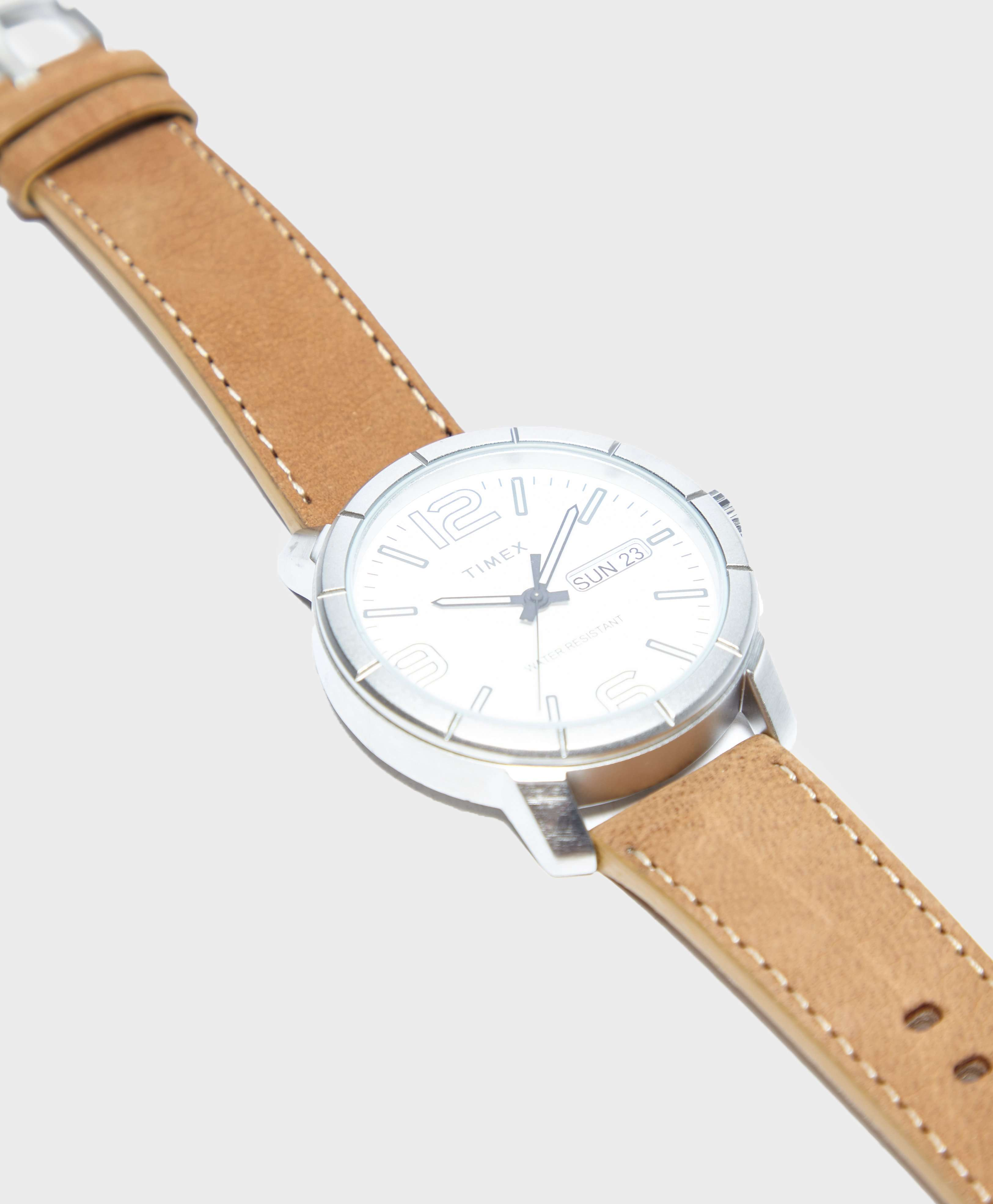 Timex Mod44 44mm Leather Strap Watch