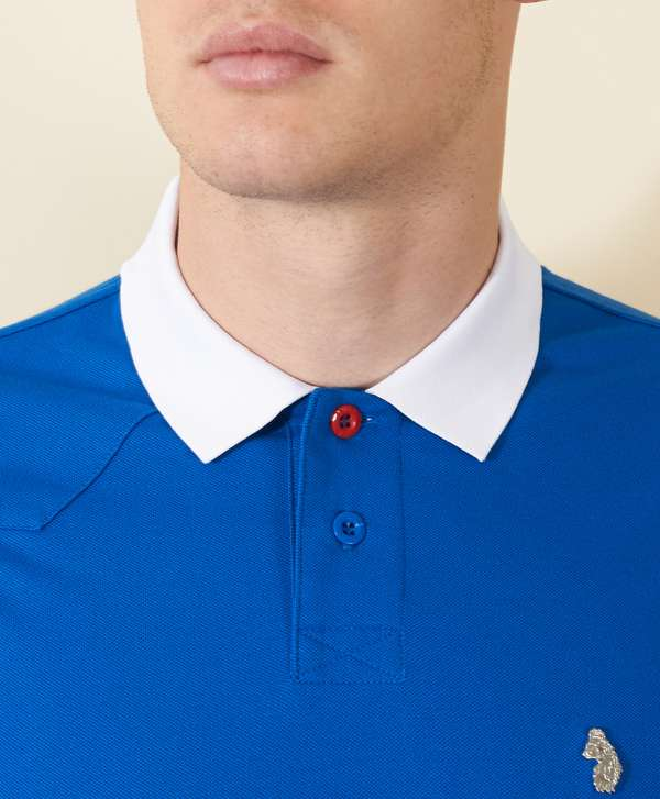 Luke 1977 plants polo shirt scotts menswear for Luke donald polo shirts
