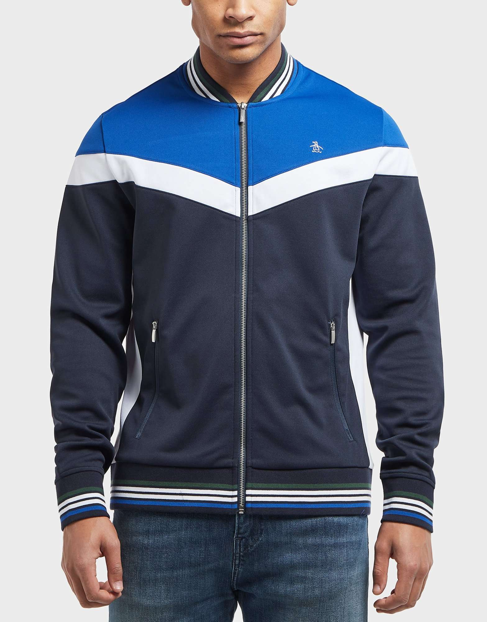 Original Penguin Retro Track Top - Online Exclusive