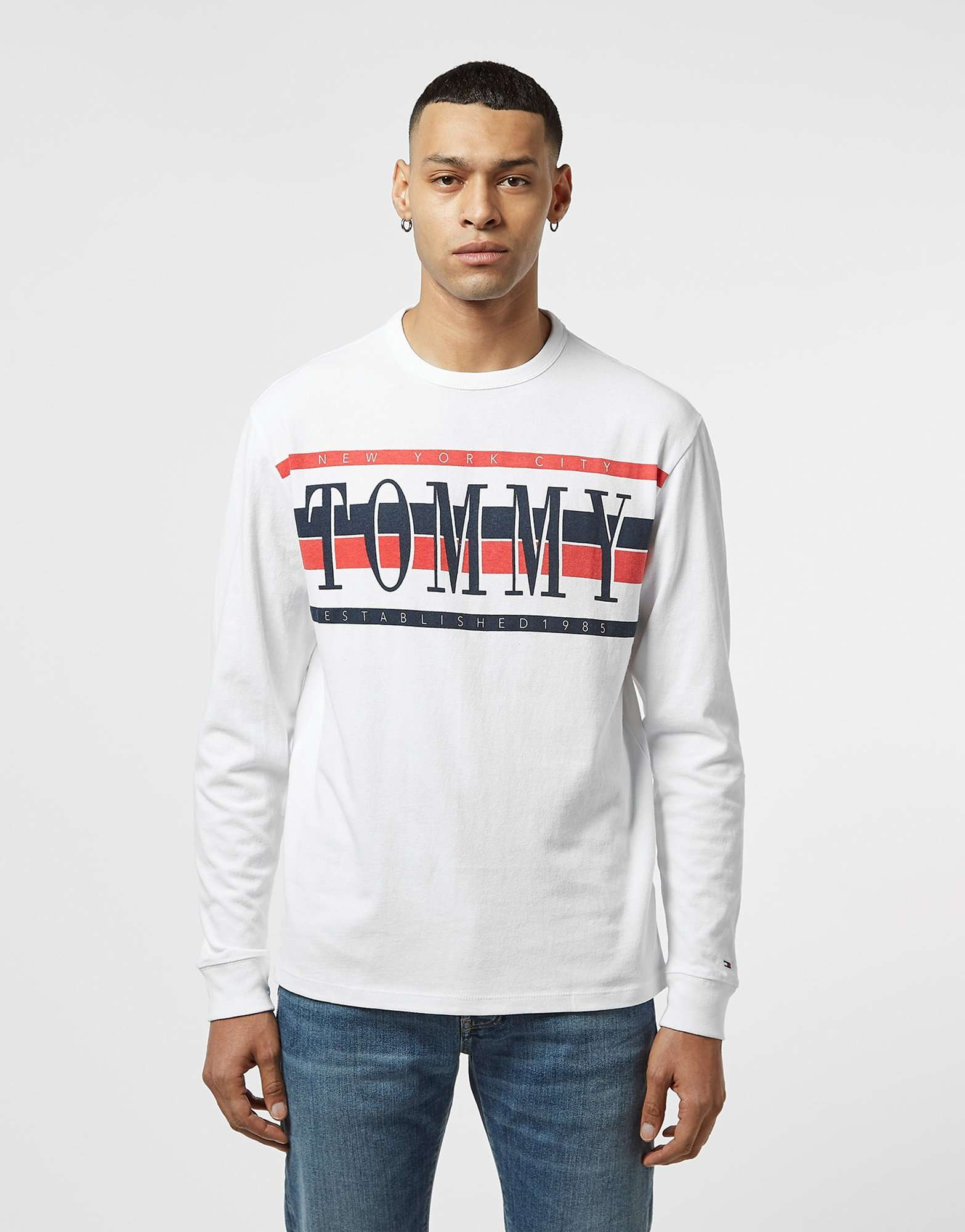Tommy Jeans Retro Long Sleeve T-Shirt - Online Exclusive