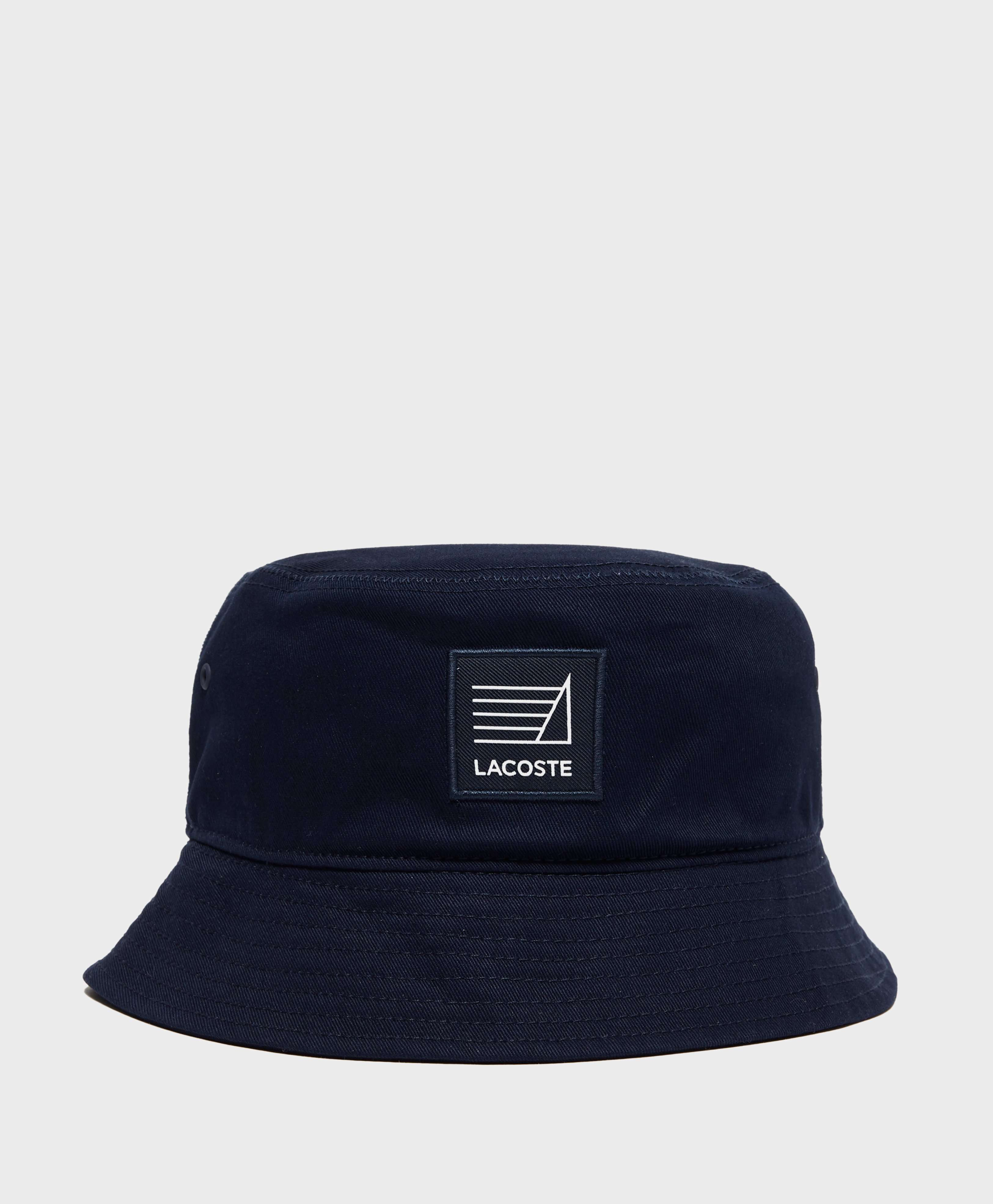 Lacoste Logo Bucket Hat  4000bace2db