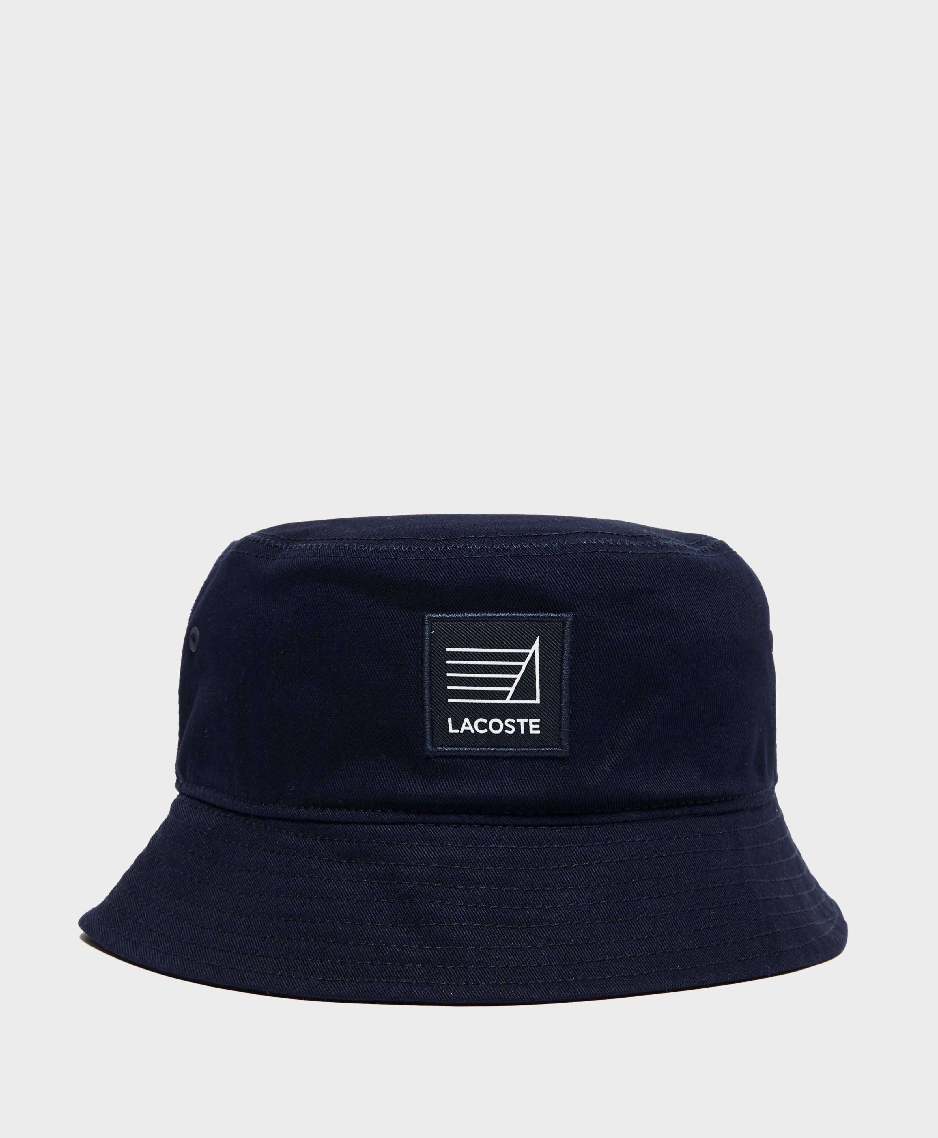 Lacoste Logo Bucket Hat  91ad2afe112