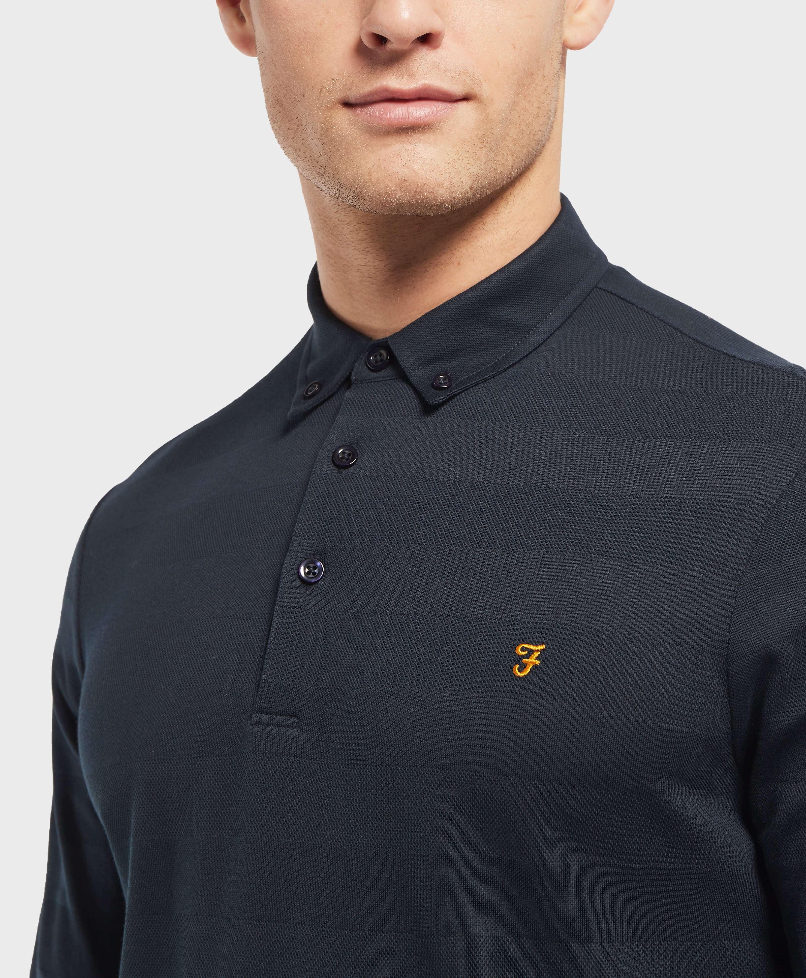 Farah Long Sleeve Polo Shirt - Online Exclusive