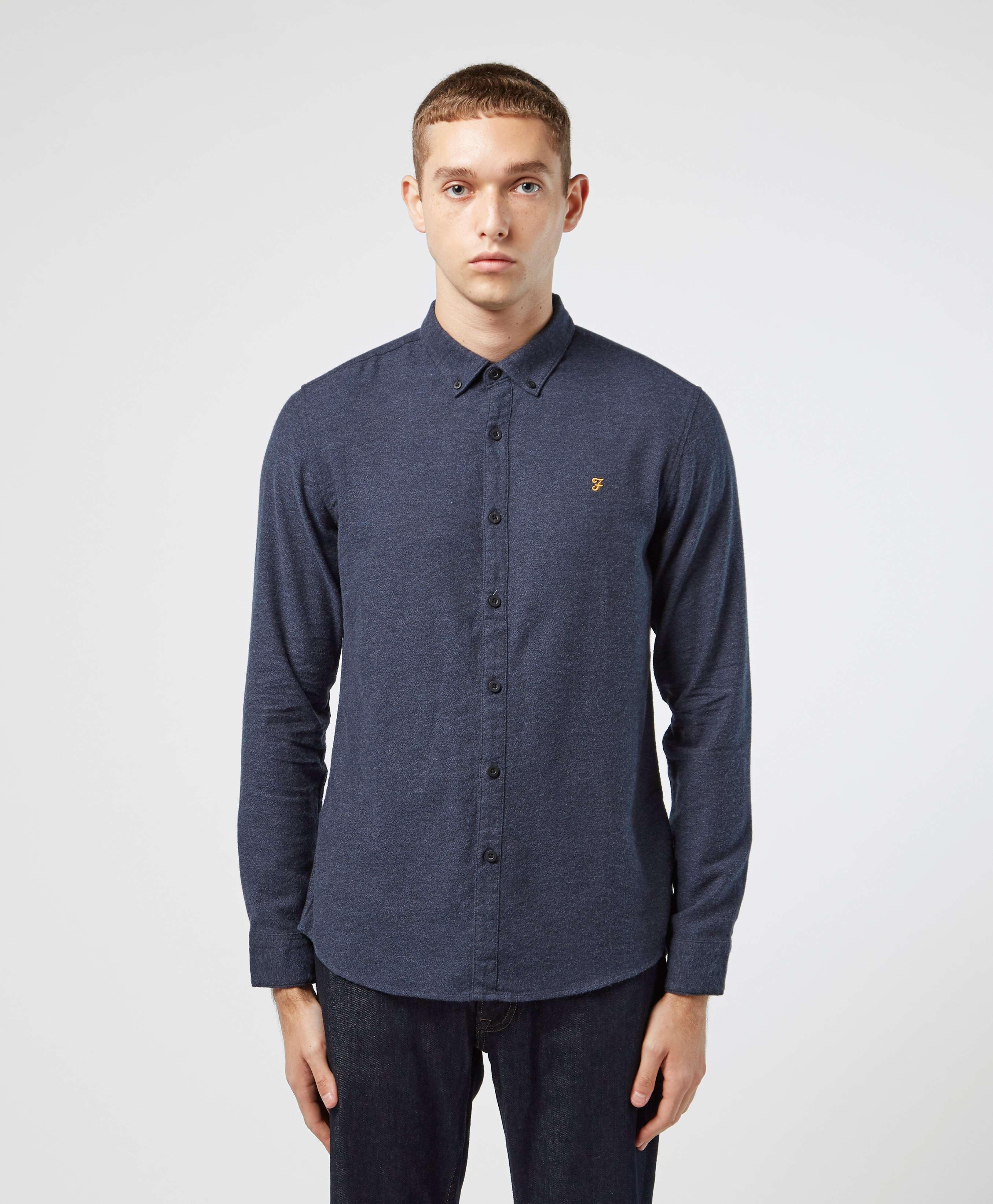 Farah Long Sleeve Oxford Shirt