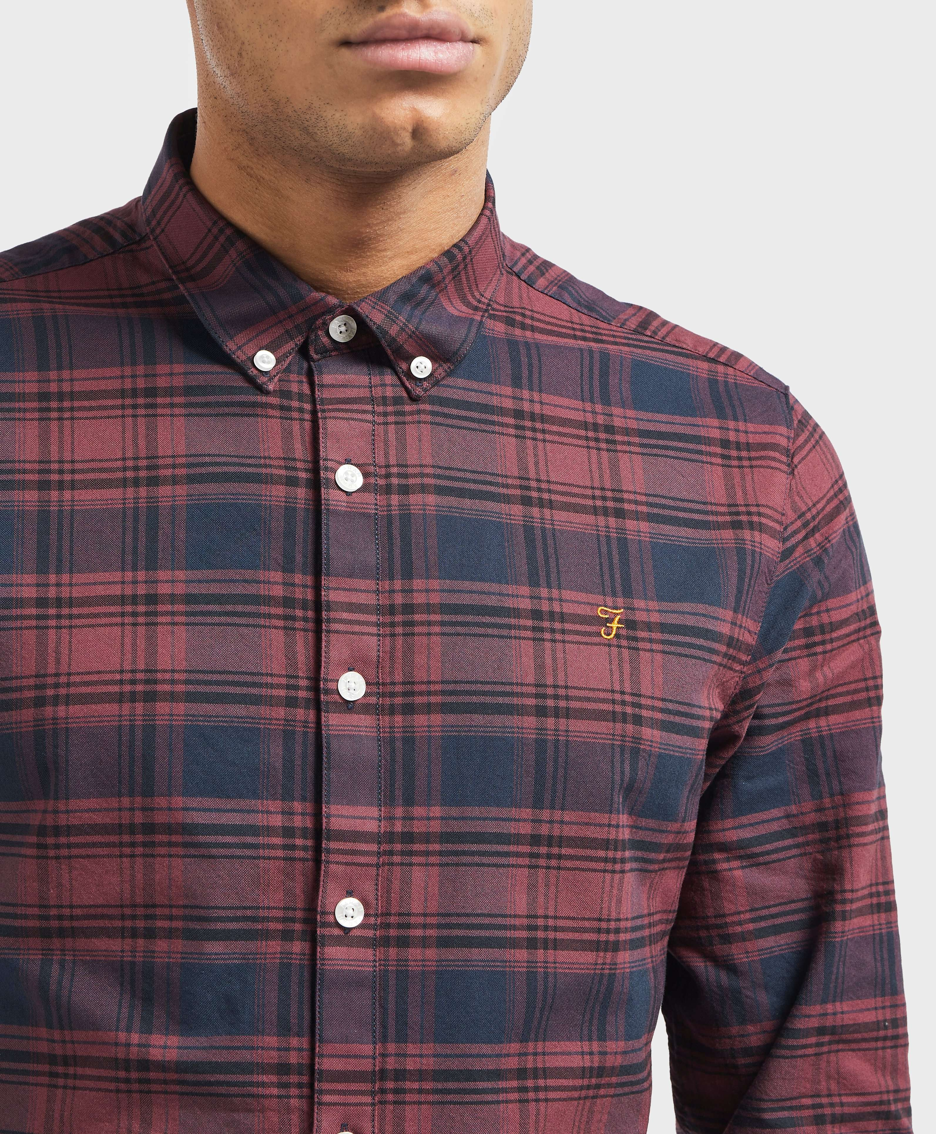 Farah Check Long Sleeve Shirt - Online Exclusive