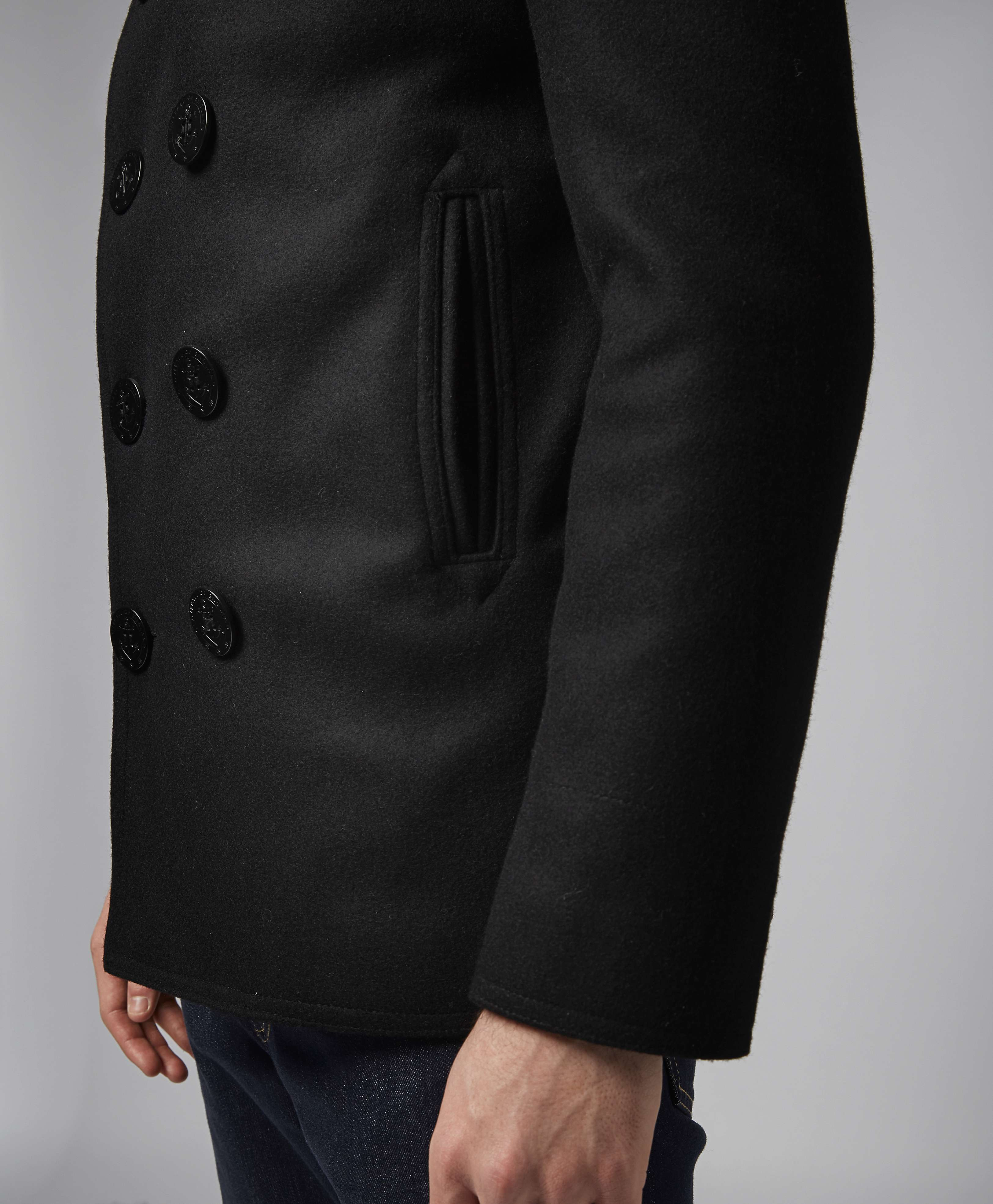 Gloverall Reefer Jacket | scotts Menswear