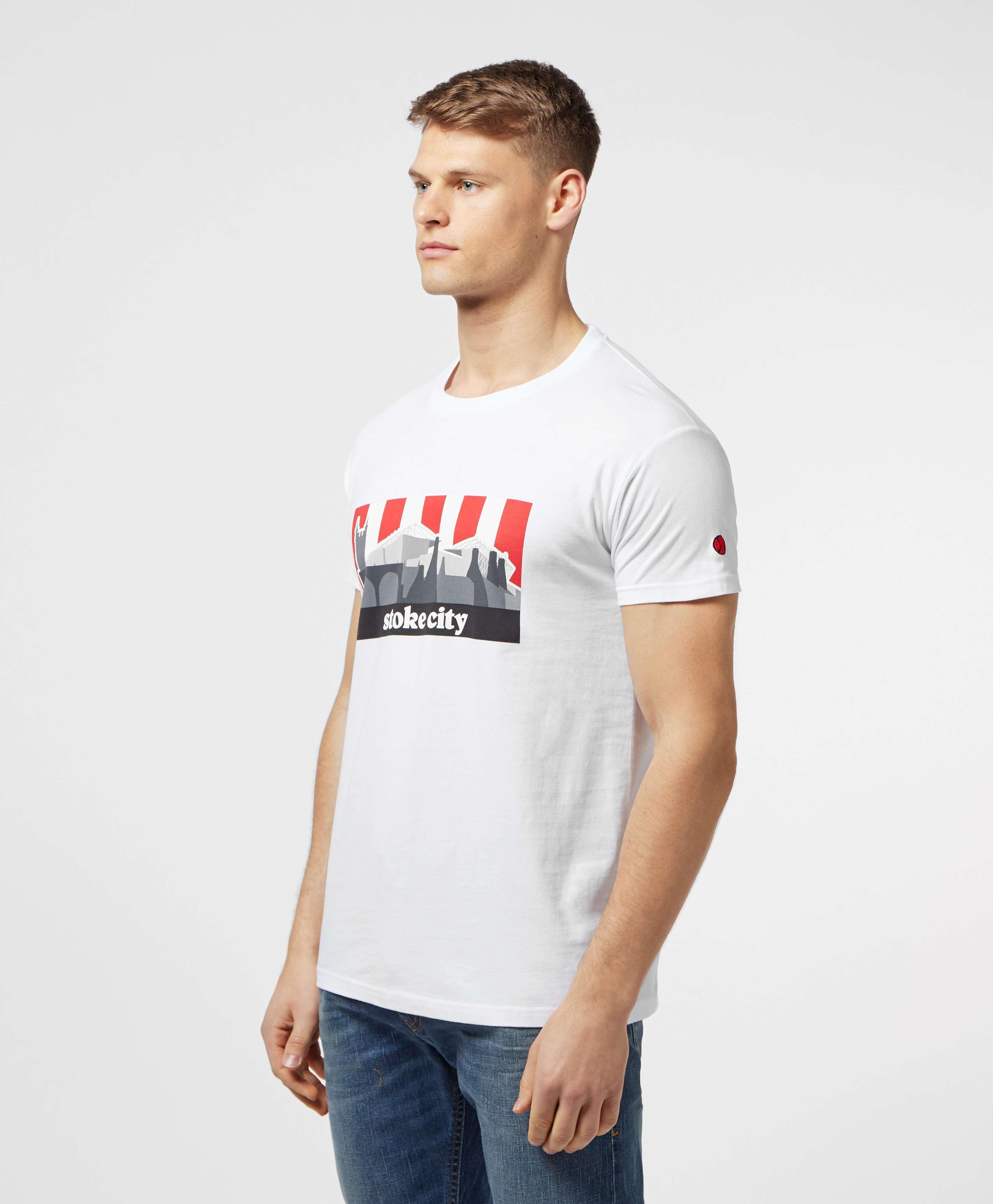 80s Casuals Stoke City Short Sleeve T-Shirt