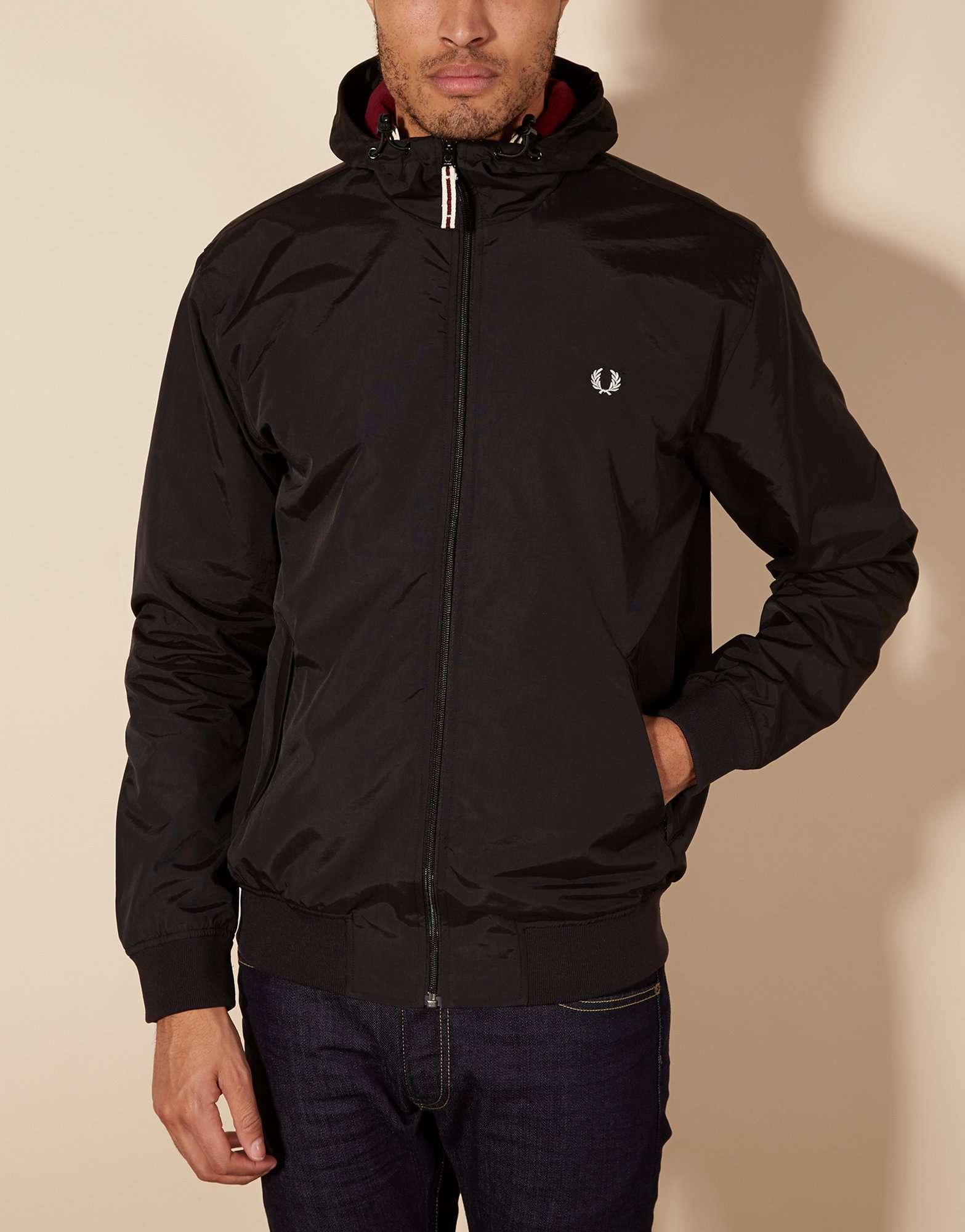 fred perry hooded sailing jacket scotts menswear. Black Bedroom Furniture Sets. Home Design Ideas