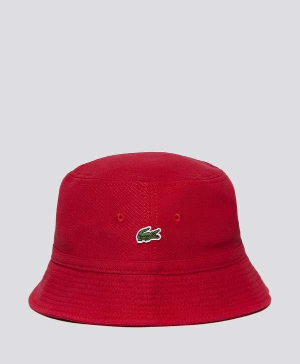 Lacoste Pique Bucket Hat  9e83b881885