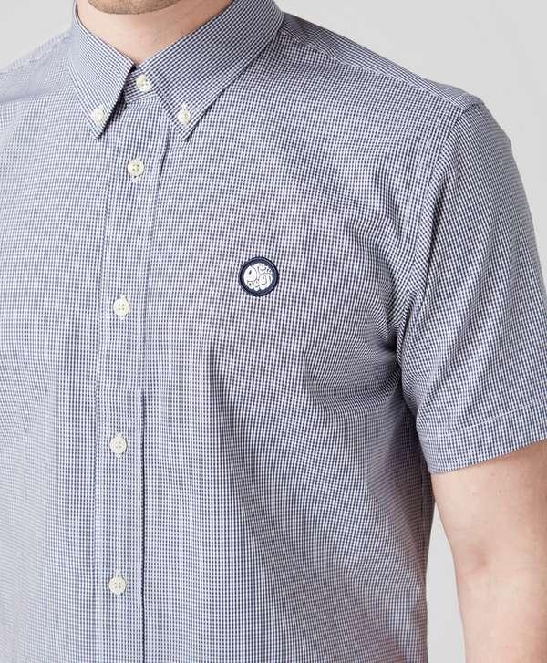 688ffb66c86 ... Pretty Green Short Sleeve Gingham Shirt - Exclusive