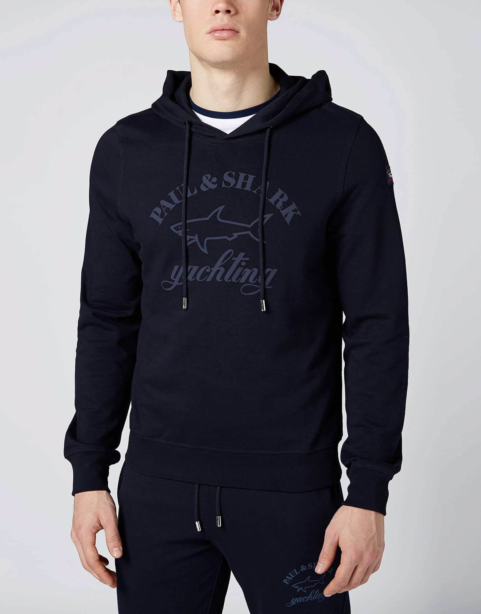 Paul and Shark Overhead Logo Hoody