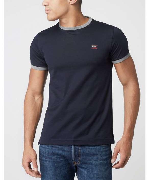 Paul and Shark Pique Crew Neck T-Shirt - Exclusive