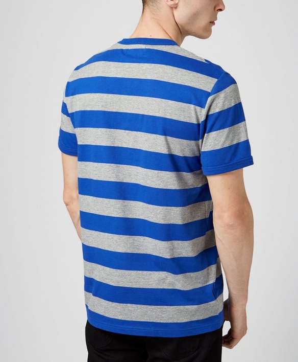 Fred Perry Striped Sports T Shirt Scotts Menswear