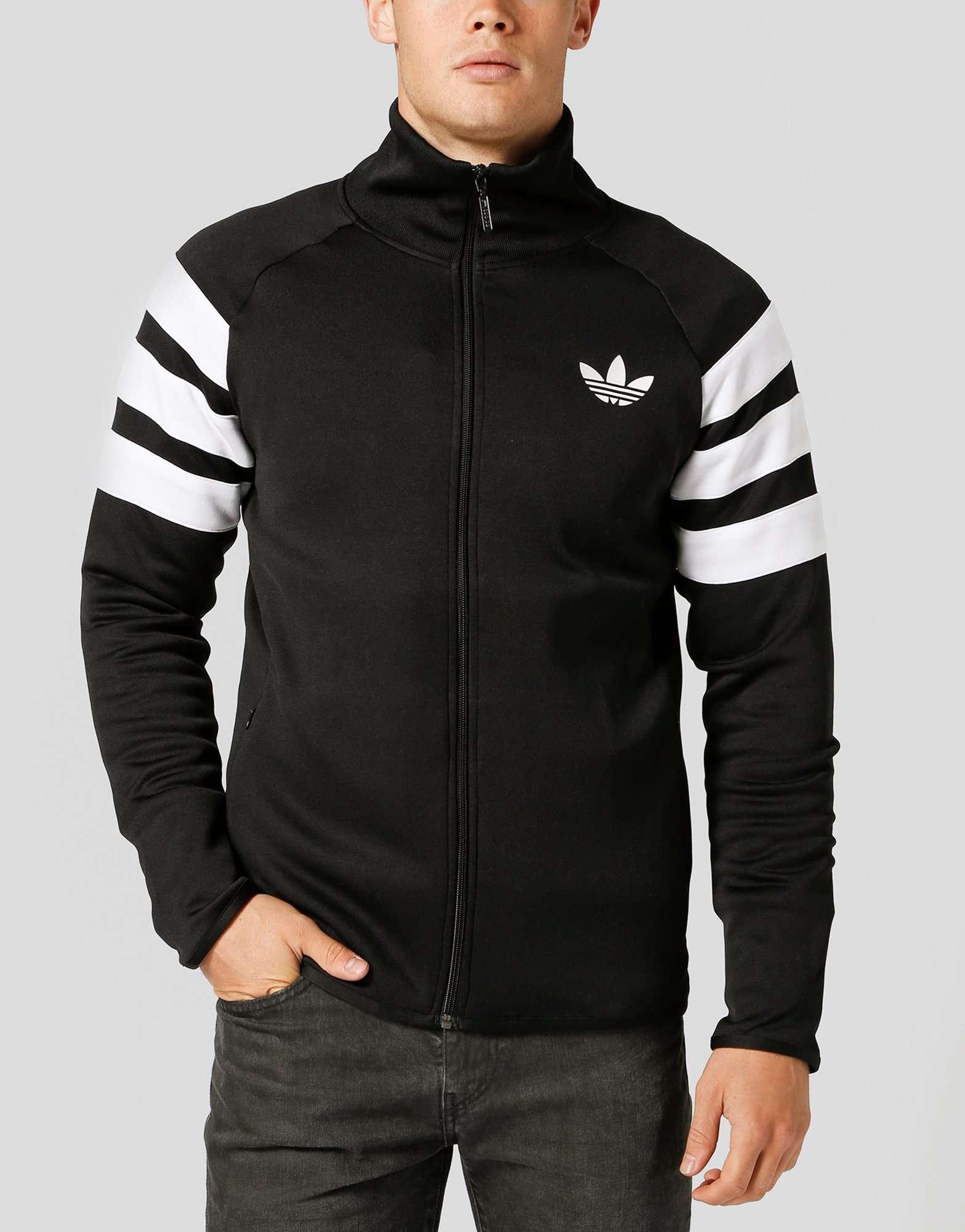 Adidas Originals Trefoil 3 Stripe Track Top Scotts Menswear