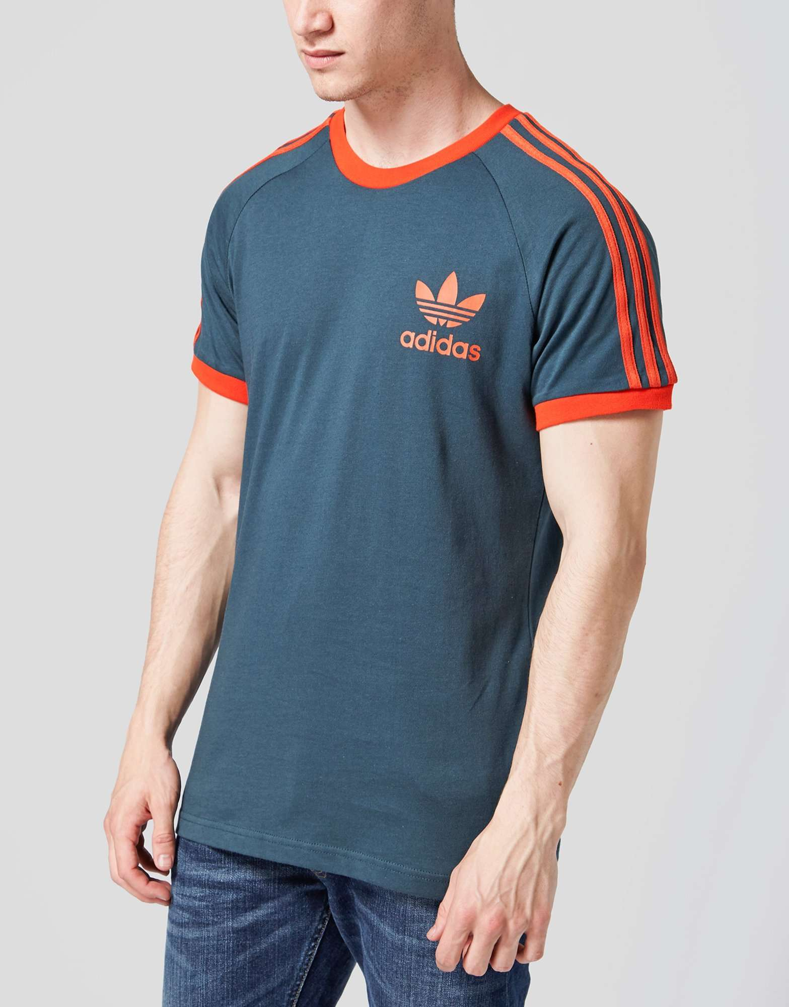 adidas originals california t shirt scotts menswear. Black Bedroom Furniture Sets. Home Design Ideas