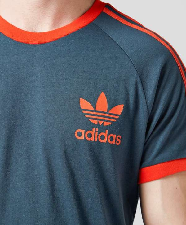 Adidas originals california short sleeve t shirt scotts for Adidas classic t shirt