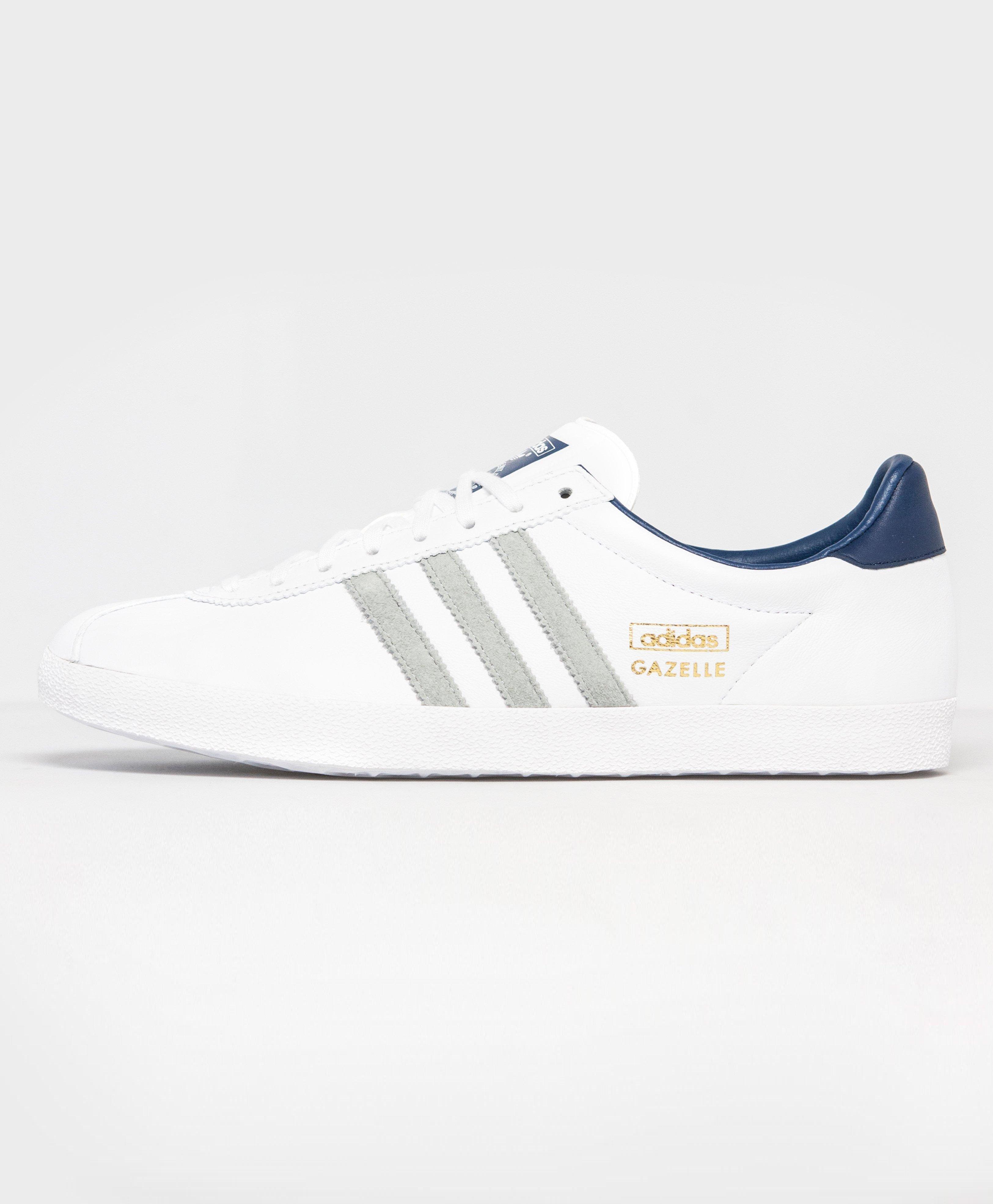 Adidas Gazelle Leather White