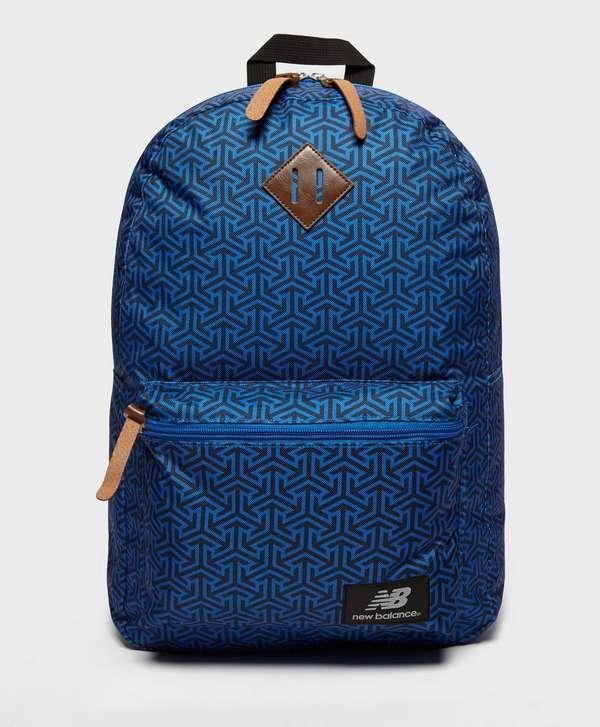 New Balance Geo Print Backpack - Blue