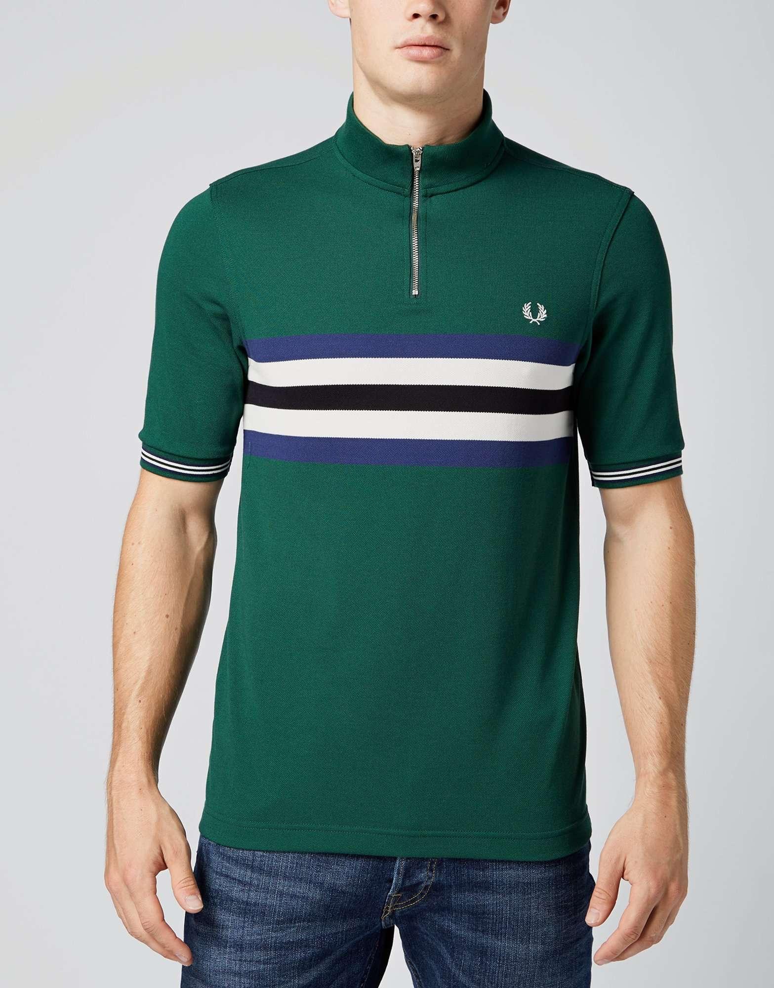 Fred Perry Bradley Wiggins Cycling Polo Shirt  35388508a