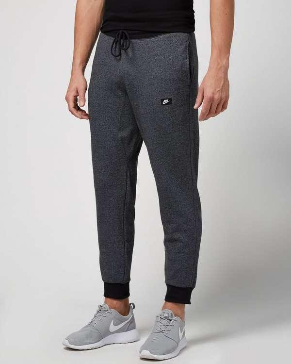 Nike Shoebox Fleece Pants Grey Marl Mens