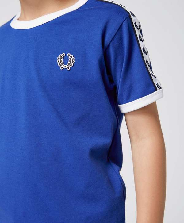 Fred Perry Childrens' Taped Retro Ringer T-Shirt