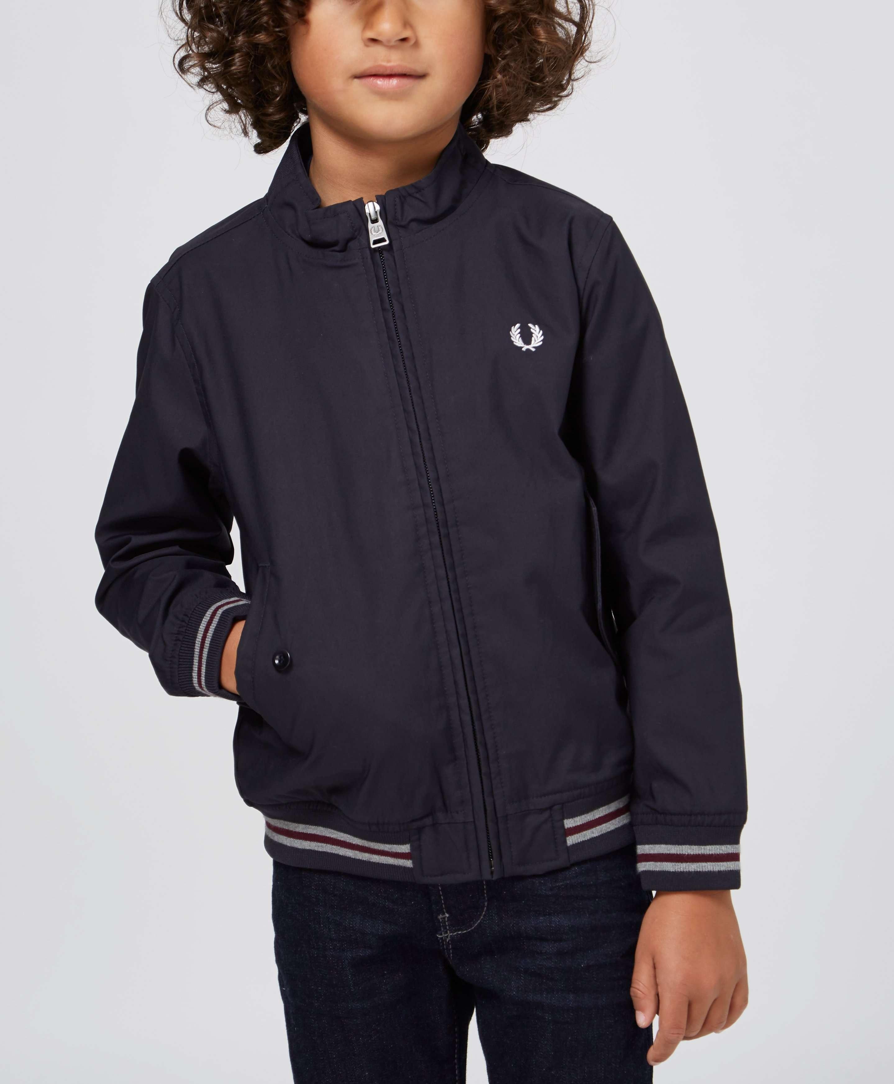Fred Perry Childrens Harrington Jacket Scotts Menswear