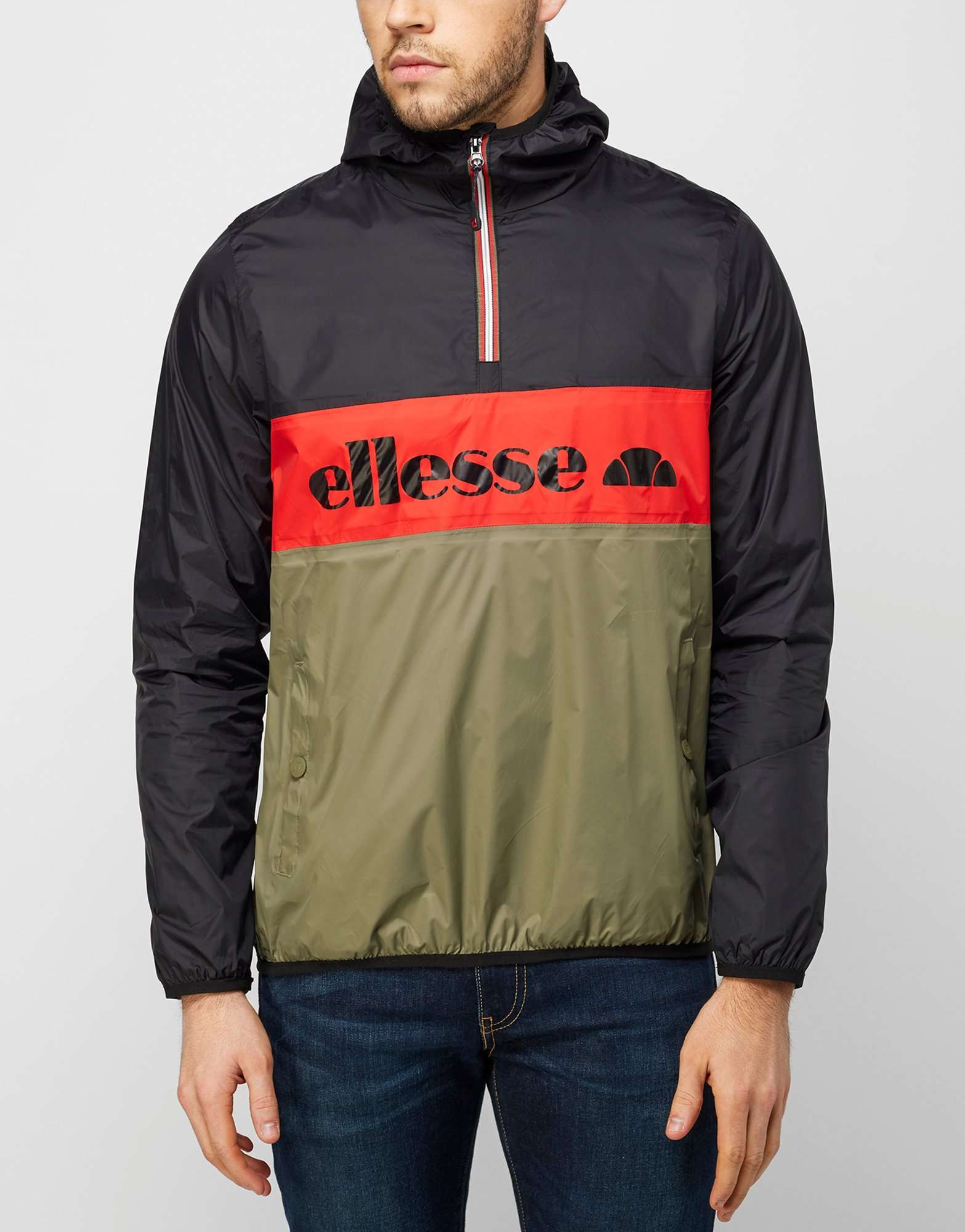 ellesse tito 1 2 zip jacket scotts menswear. Black Bedroom Furniture Sets. Home Design Ideas