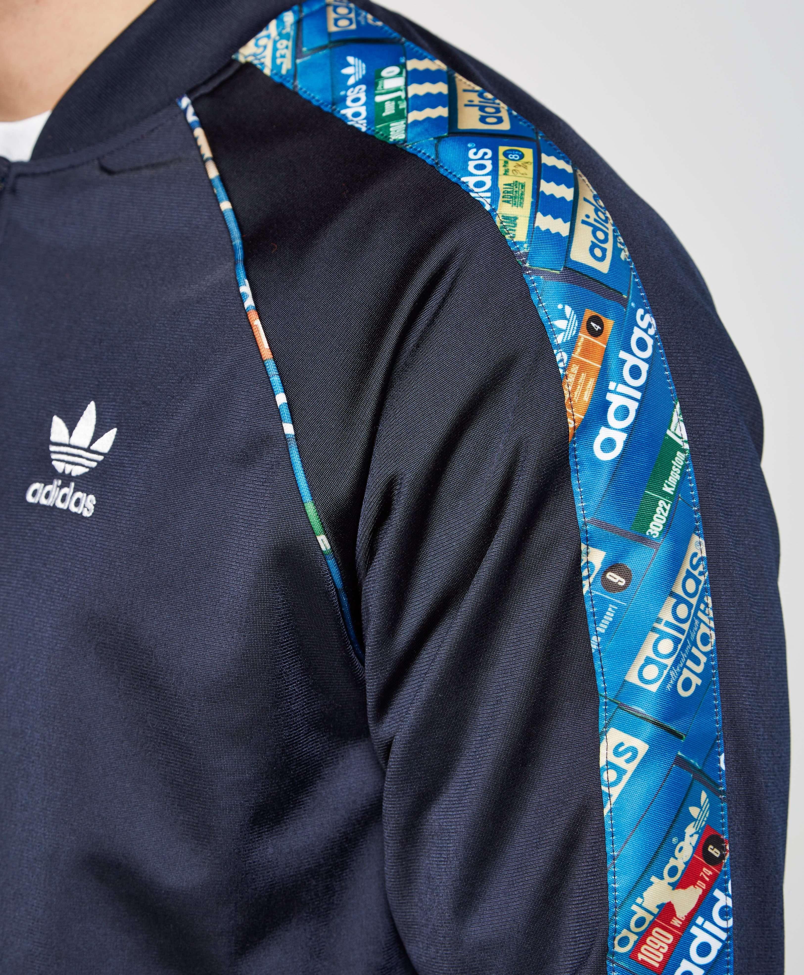 Adidas Originals Trefoil Shoebox Reversible Track Top Scotts Menswear
