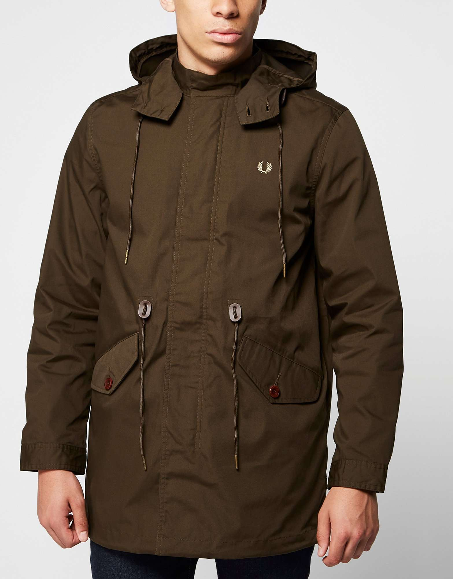 fred perry fishtail parka scotts menswear. Black Bedroom Furniture Sets. Home Design Ideas