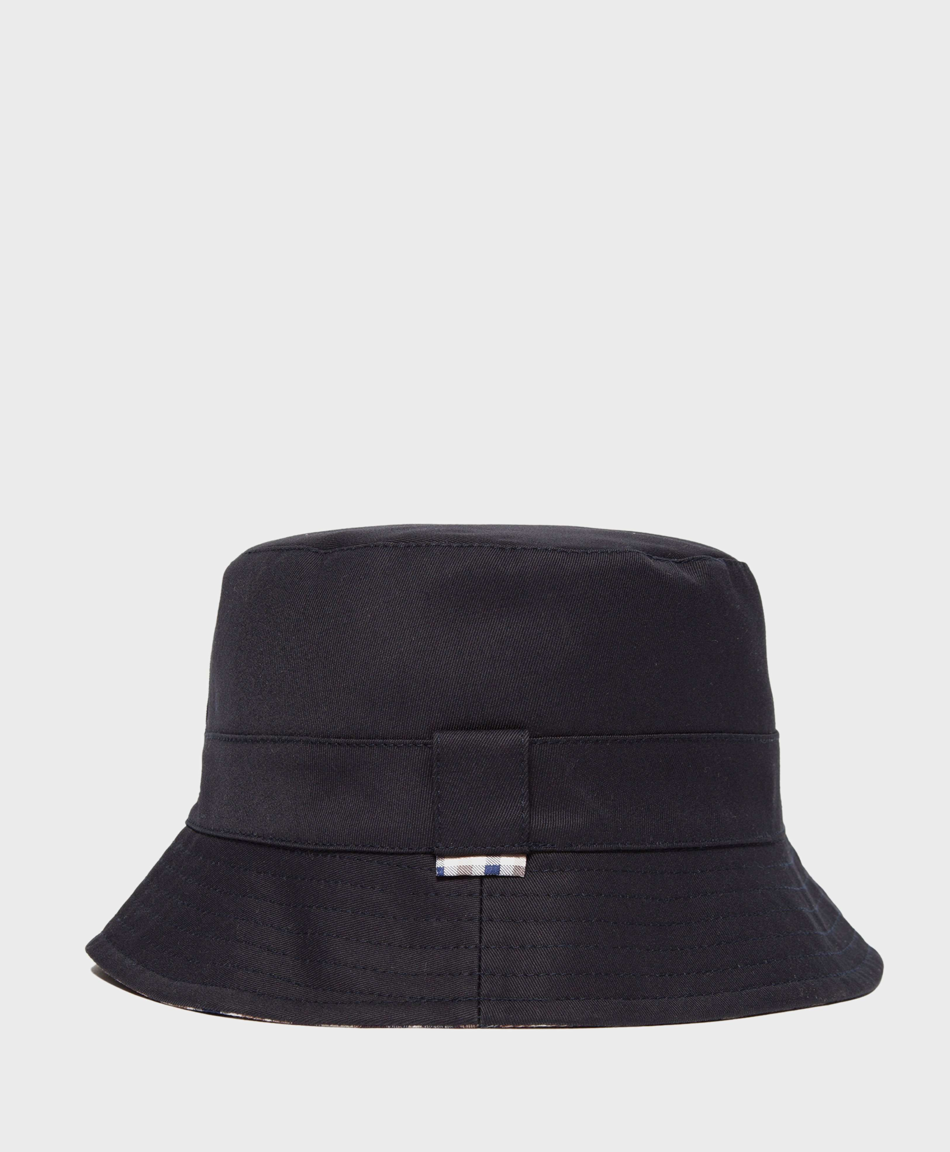 ef047542cbb Aquascutum Reversible House Check Bucket Hat