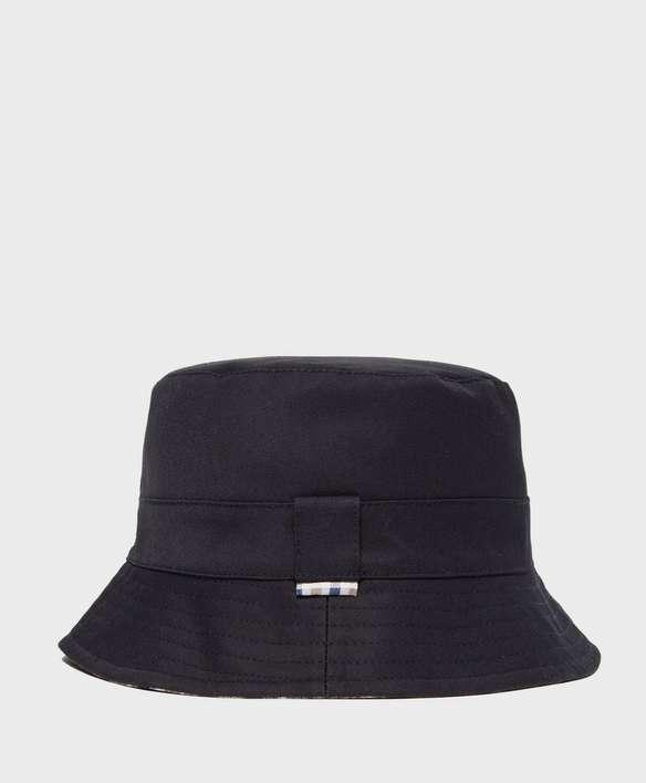 Aquascutum Reversible House Check Bucket Hat