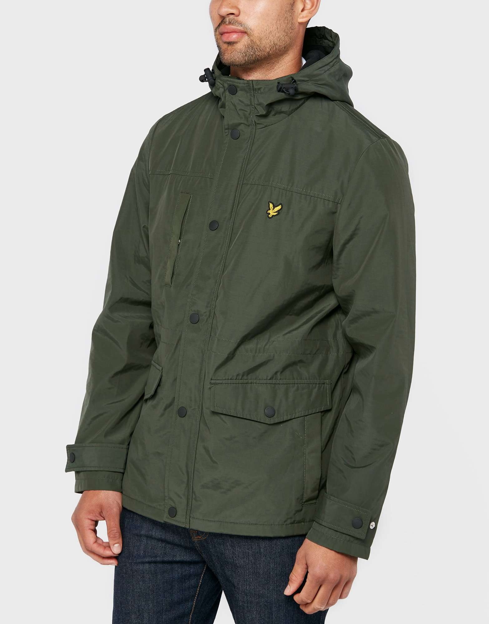 lyle scott fleece line lightweight jacket scotts menswear. Black Bedroom Furniture Sets. Home Design Ideas
