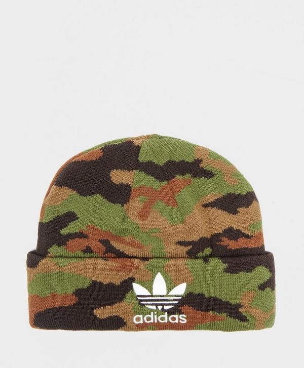 88d7bef2a99 adidas Originals Camouflage Beanie Hat