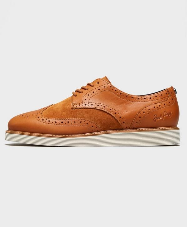 8b4d9fd00d Fred Perry Newburgh Brogue Shoes
