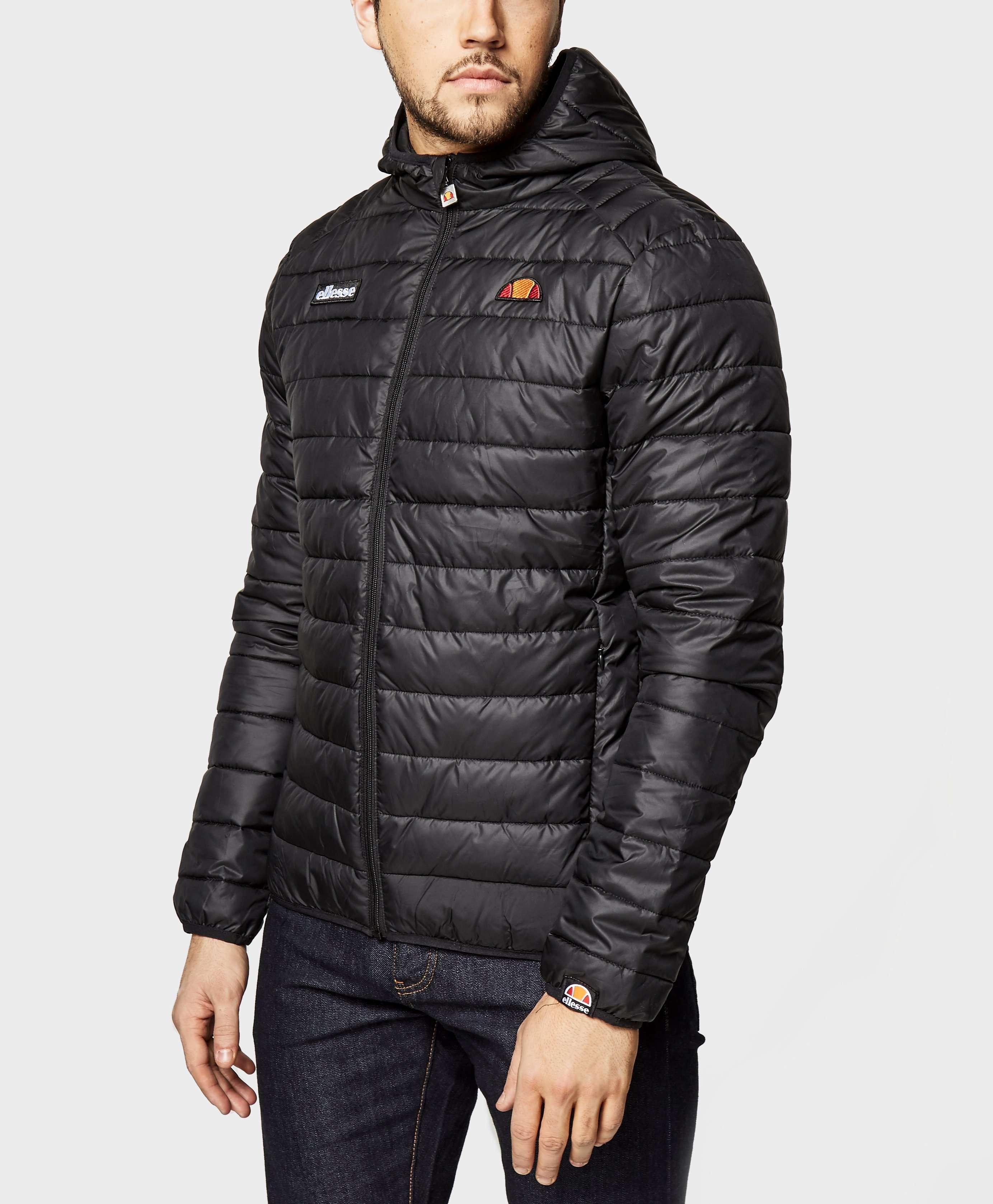 Padded Overhead Jacket In Black - Black Ellesse
