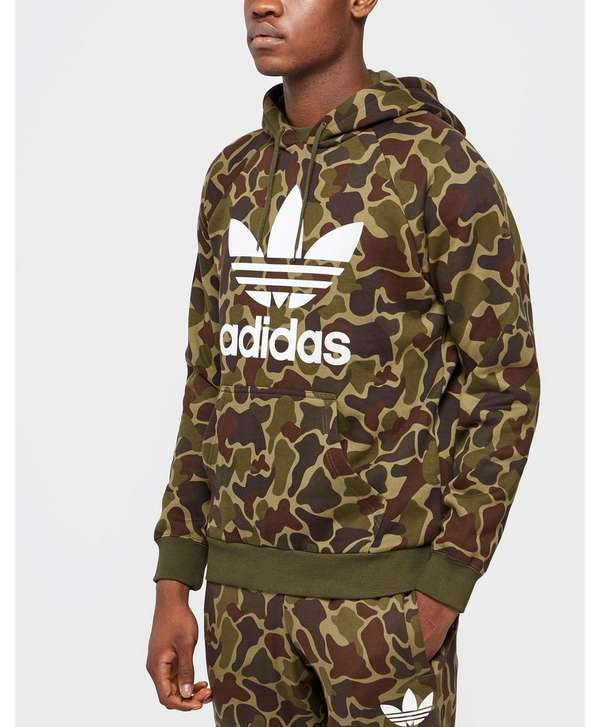 adidas originals camouflage hoody scotts menswear. Black Bedroom Furniture Sets. Home Design Ideas