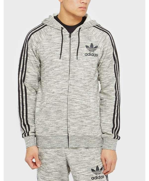 adidas Originals California FZ Hoodie - Grey