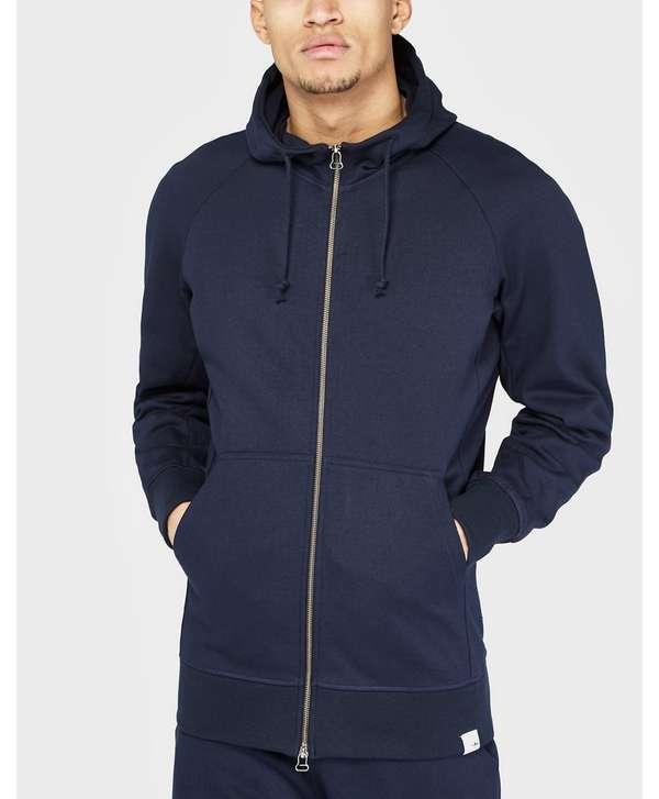 Adidas Menswear - Adidas Originals Xbyo Zip Hoodie Navy